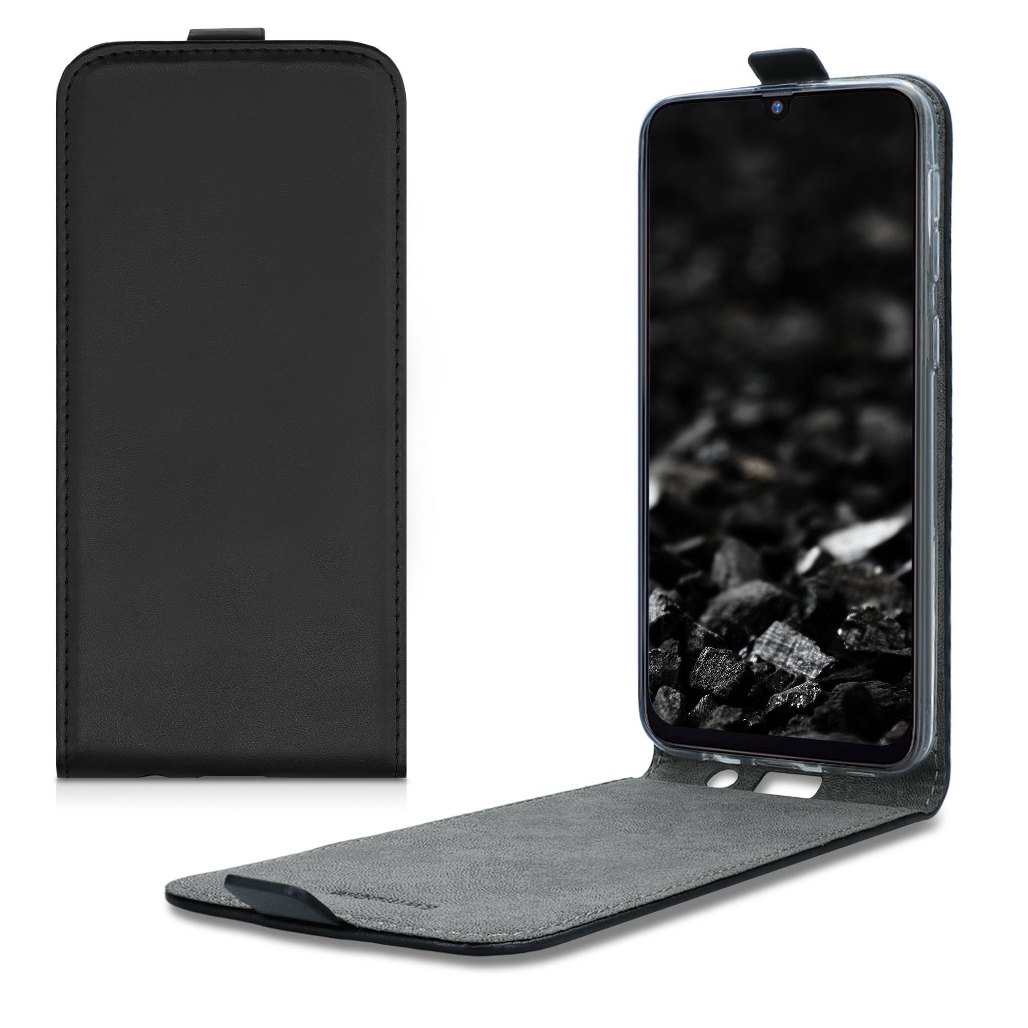 Kožené pouzdro pro Samsung M21 - černé