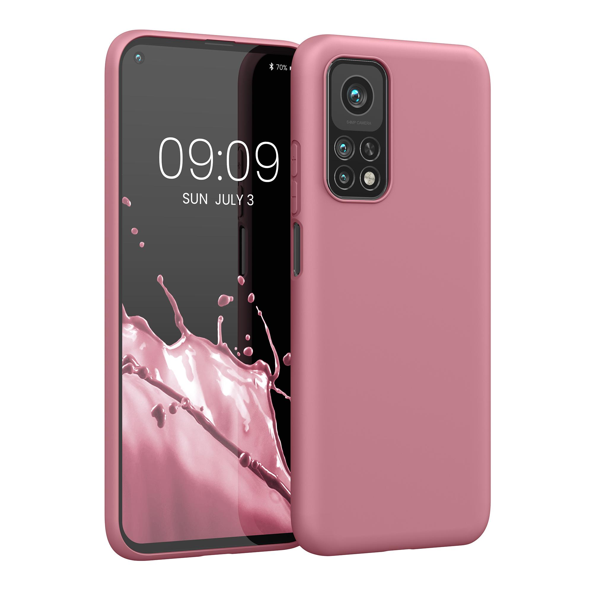 Tmavě růžové Rusty Rose silikonové pouzdro / obal pro Xiaomi Mi 10T / Mi 10T Pro