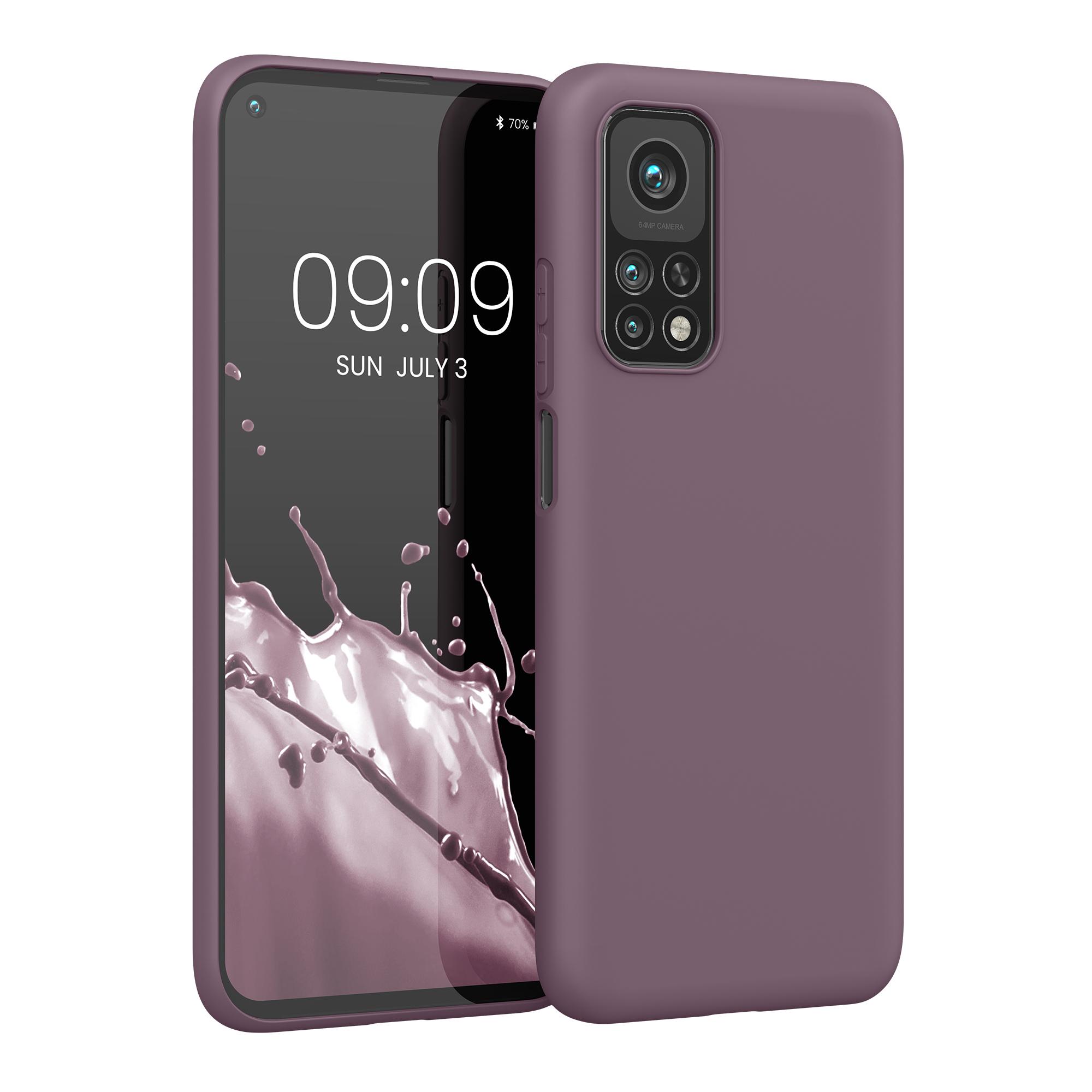 Hroznově fialové silikonové pouzdro / obal pro Xiaomi Mi 10T / Mi 10T Pro