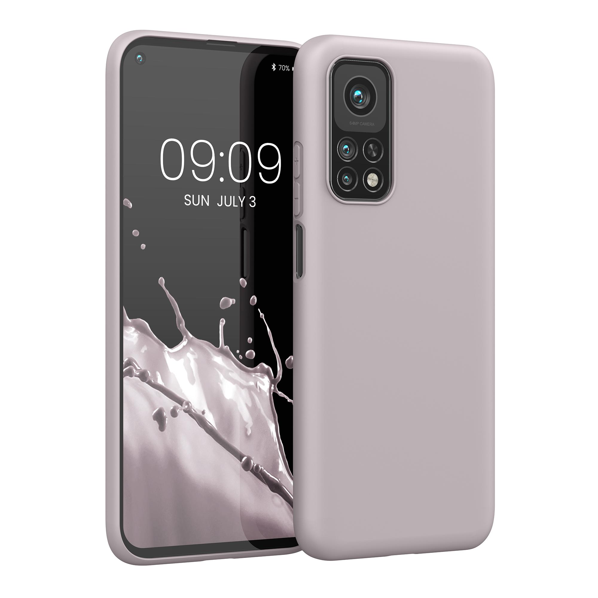 AKCE! Světle fialové silikonové pouzdro / obal pro Xiaomi Mi 10T / Mi 10T Pro