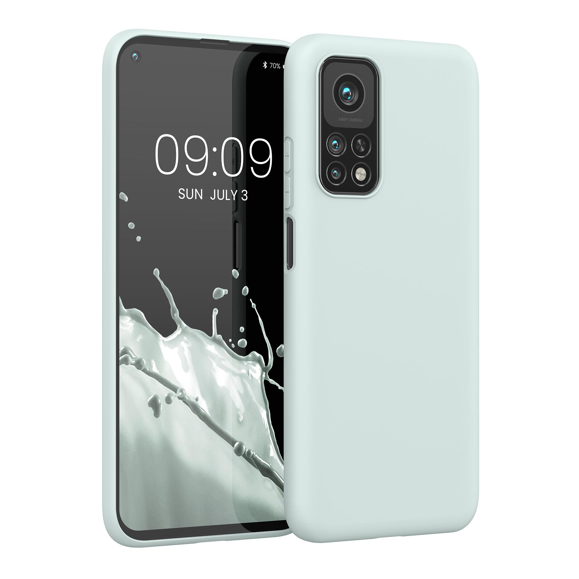 Světle modré Frosty Mint pouzdro / obal pro Xiaomi Mi 10T / Mi 10T Pro