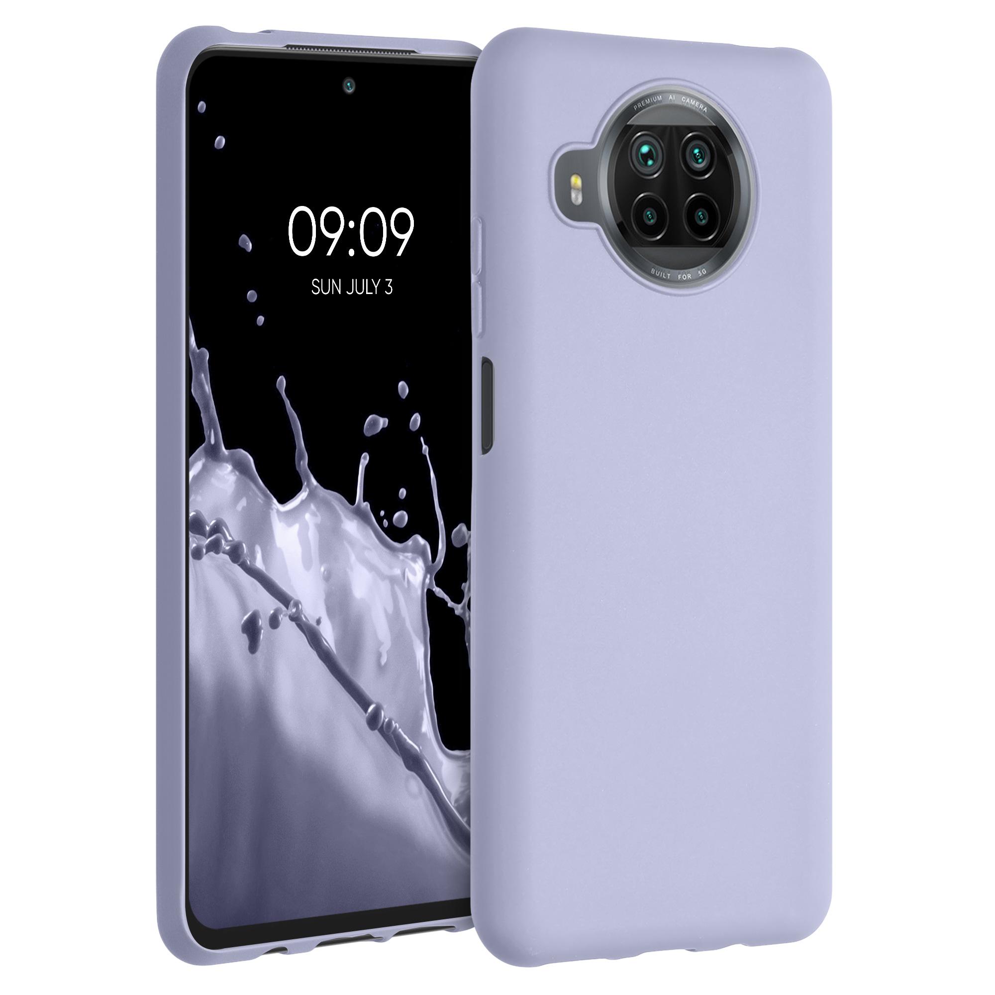 Failové levandulové silikonové TPU pouzdro / obal pro Xiaomi Mi 10T Lite
