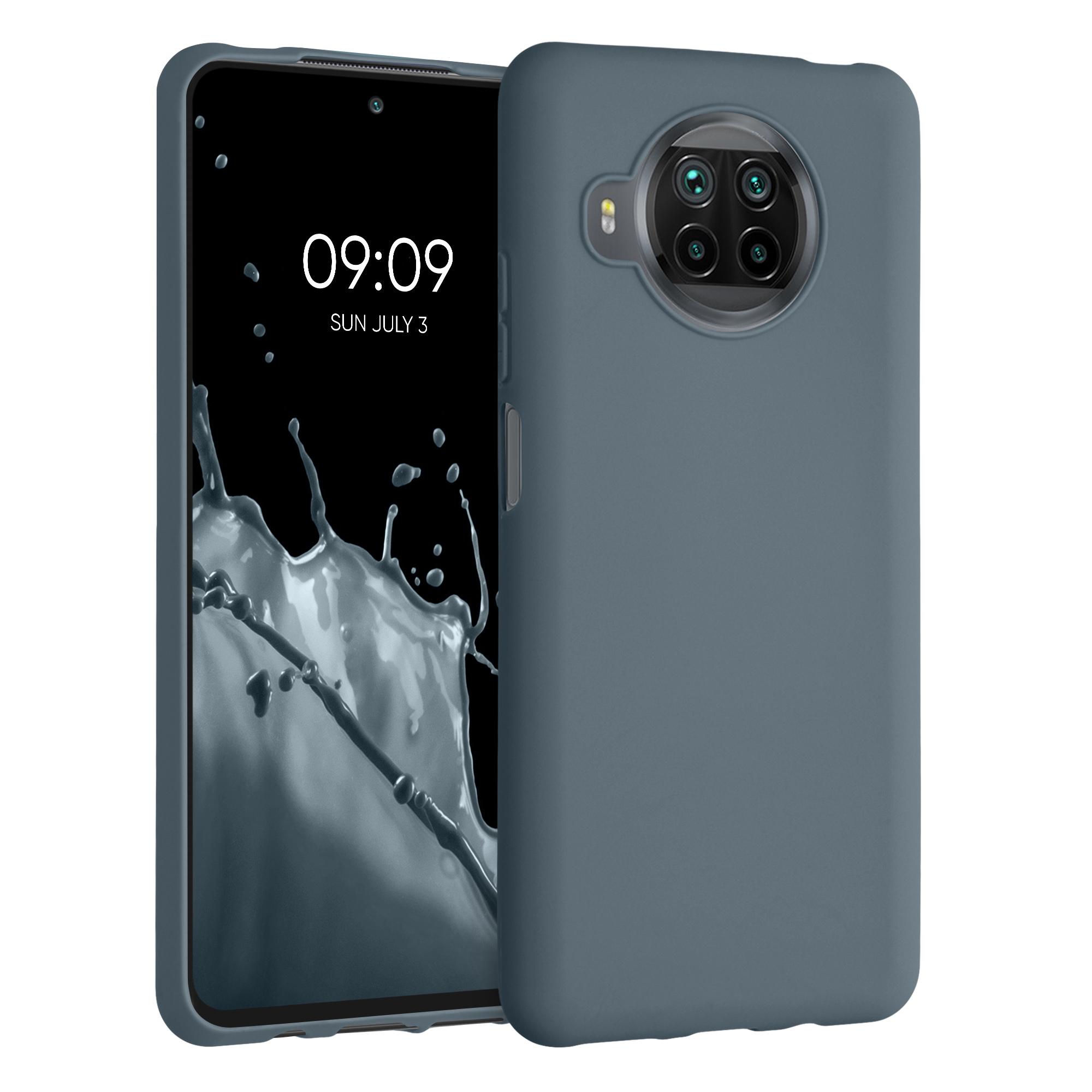 Břidlicově šedé silikonové TPU pouzdro / obal pro Xiaomi Mi 10T Lite