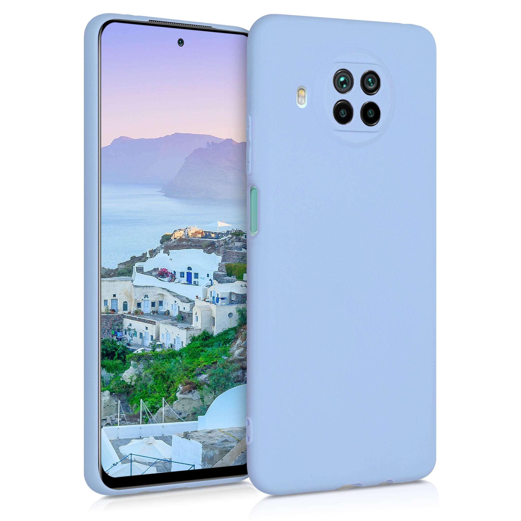 Světle modré silikonové TPU pouzdro / obal pro Xiaomi Mi 10T Lite