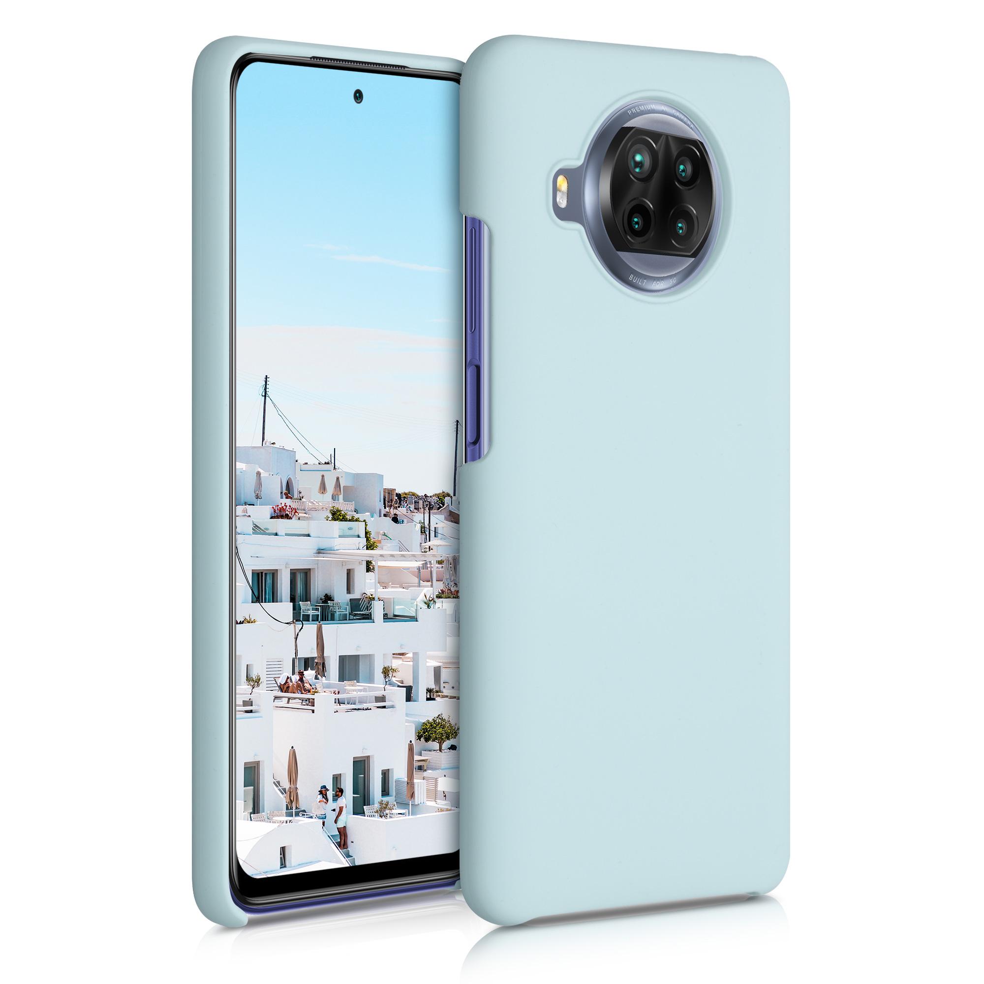 Světle modré zelené silikonové TPU pouzdro / obal pro Xiaomi Mi 10T Lite