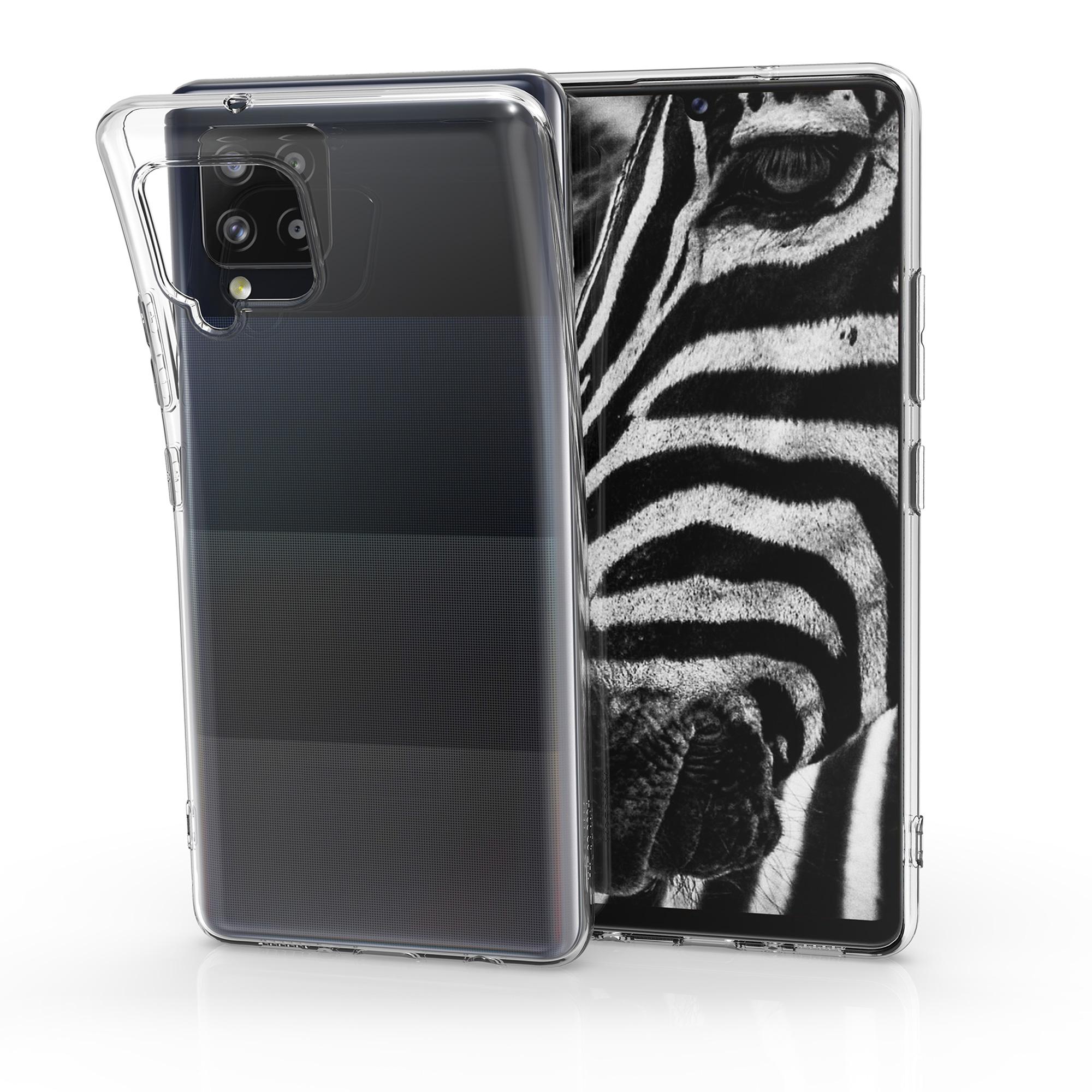 Kvalitní silikonové TPU pouzdro pro Samsung A42 5G - průhledné