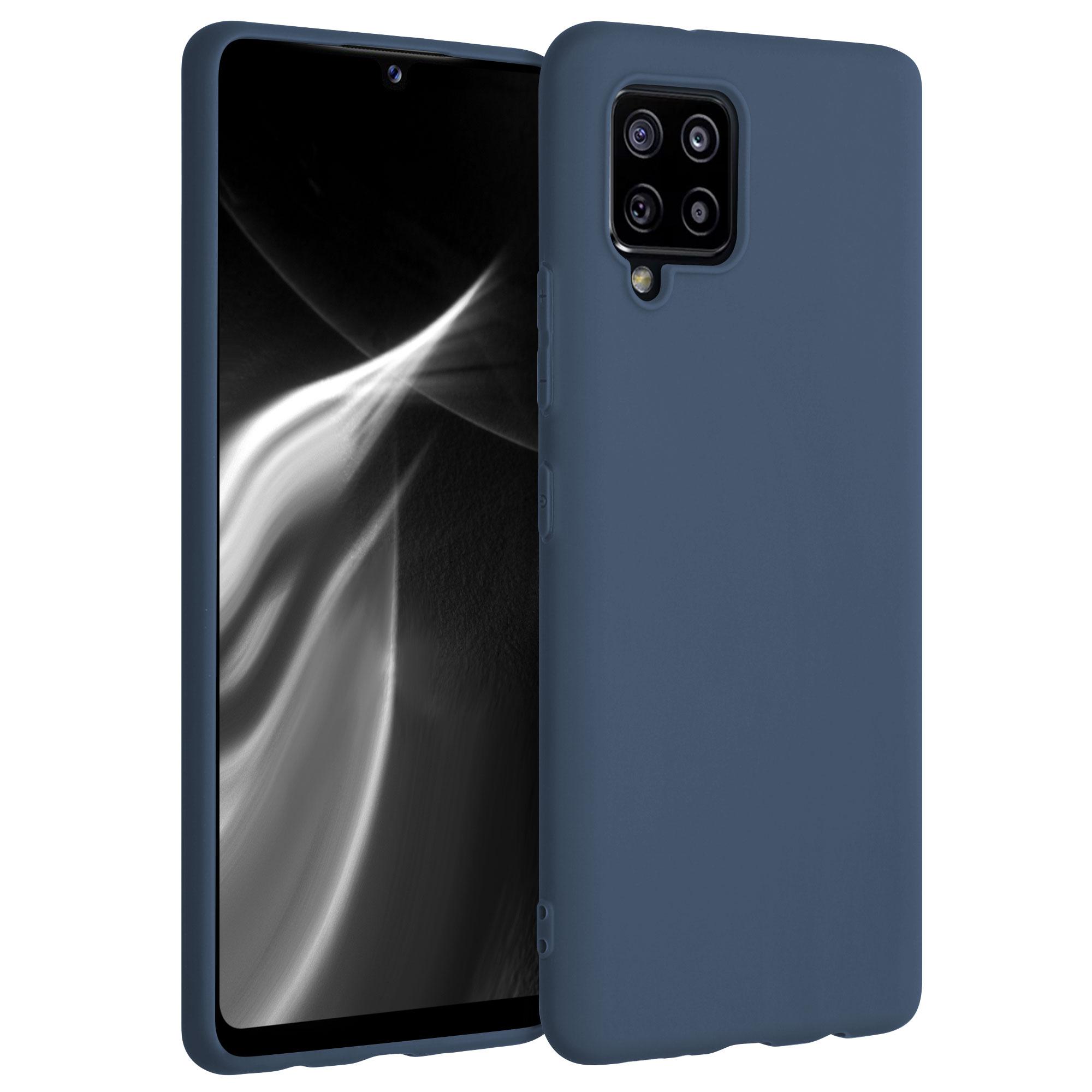 Kvalitní silikonové TPU pouzdro pro Samsung A42 5G - šedé břidlice