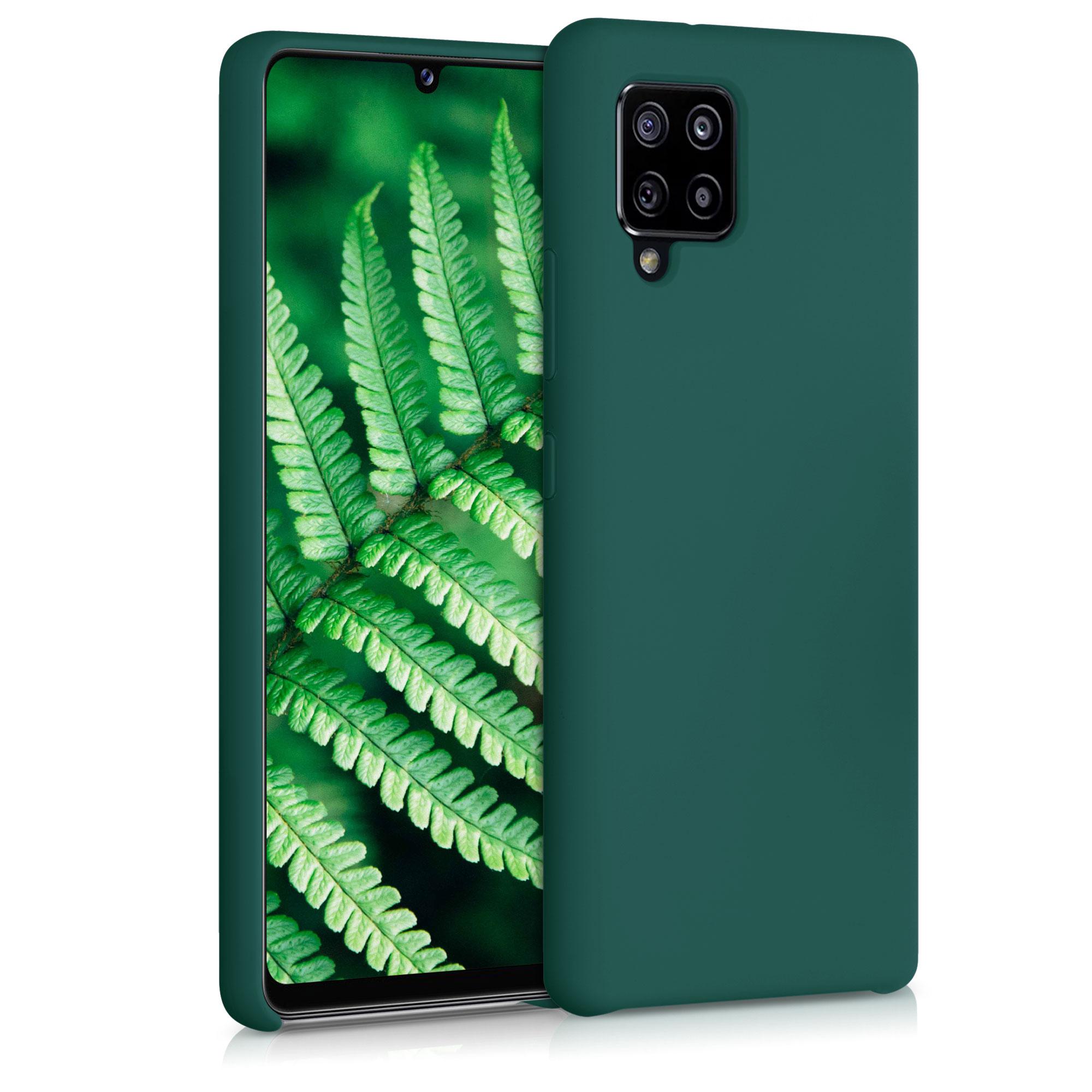 Kvalitní silikonové TPU pouzdro pro Samsung A42 5G - Turquoise Green