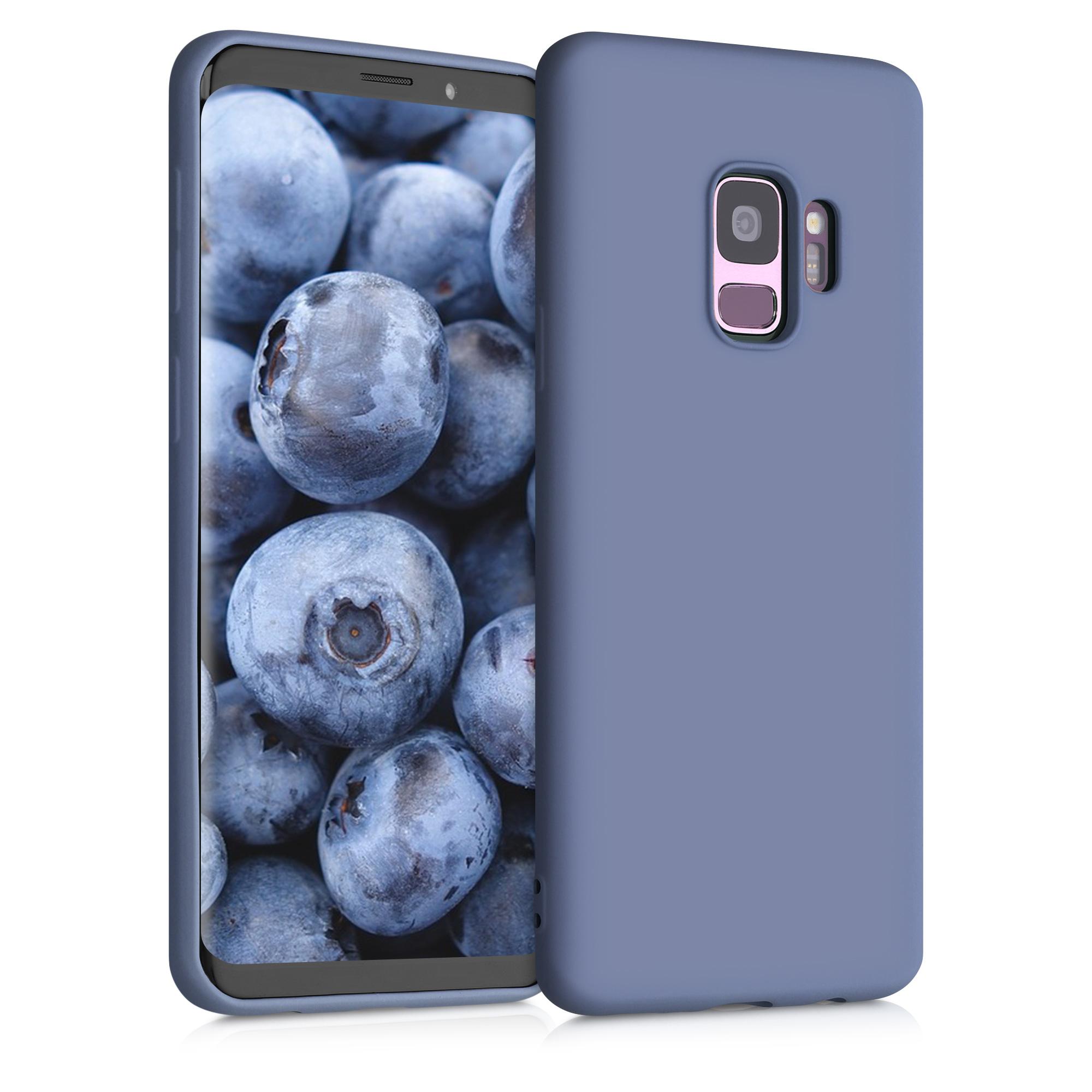 Kvalitní silikonové TPU pouzdro pro Samsung S9 - Matte Lavender Gray