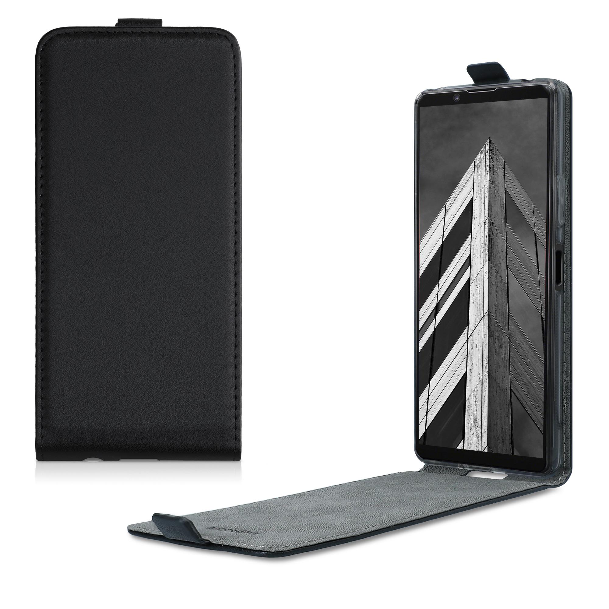 Kožené pouzdro | obal pro Sony Xperia 10 II - černé
