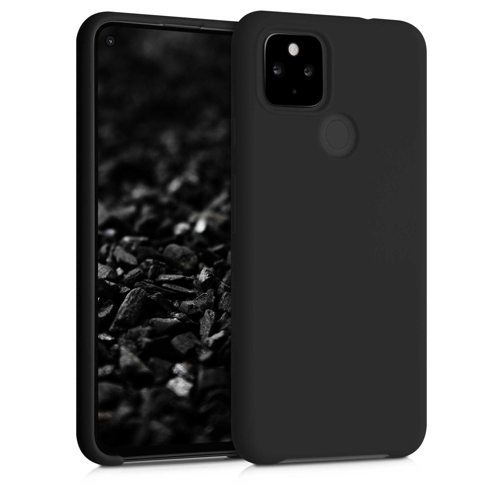 Kvalitní silikonové TPU pouzdro | obal pro Google Pixel 4a 5G - Černá