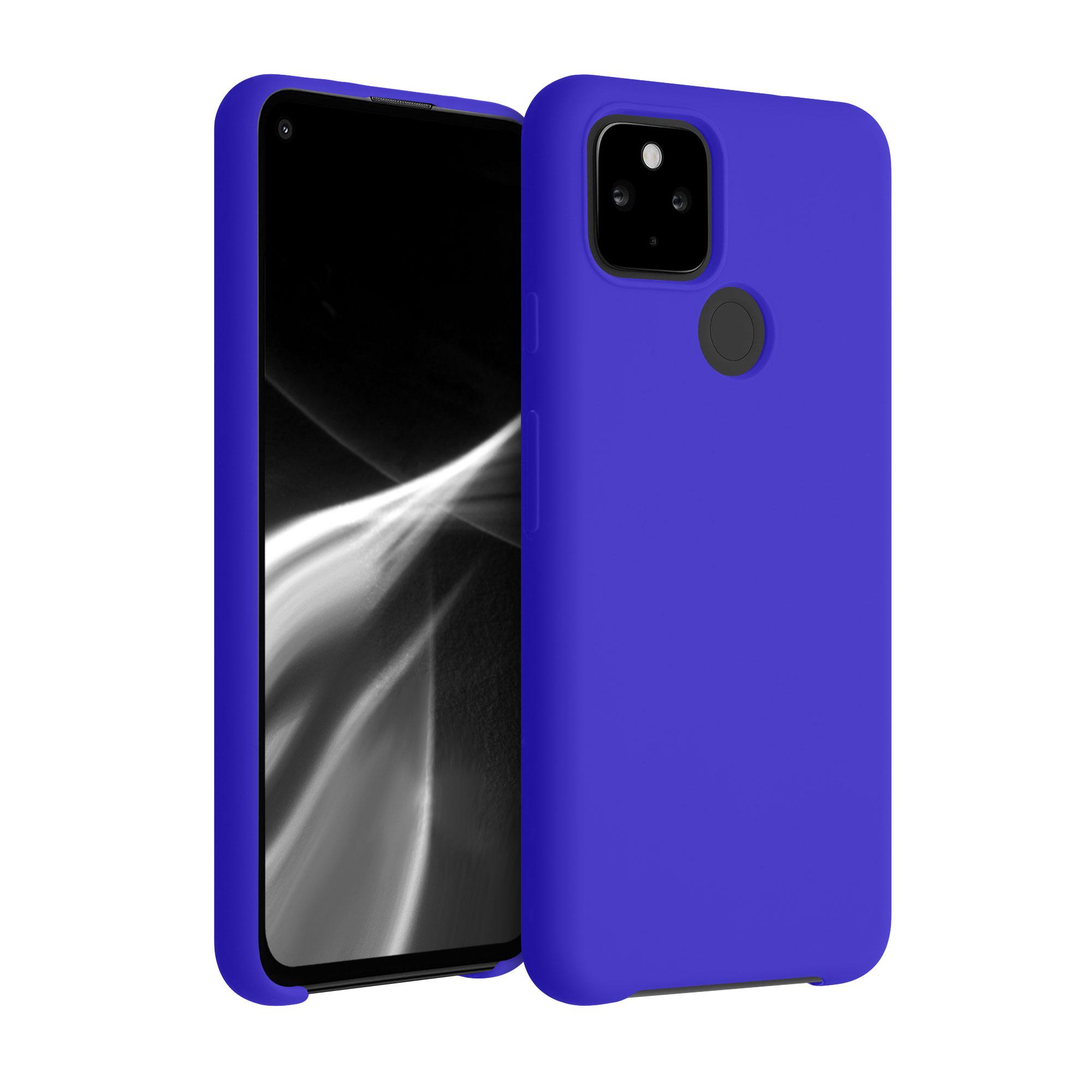 Kvalitní silikonové TPU pouzdro | obal pro Google Pixel 4a 5G - Královská modrá