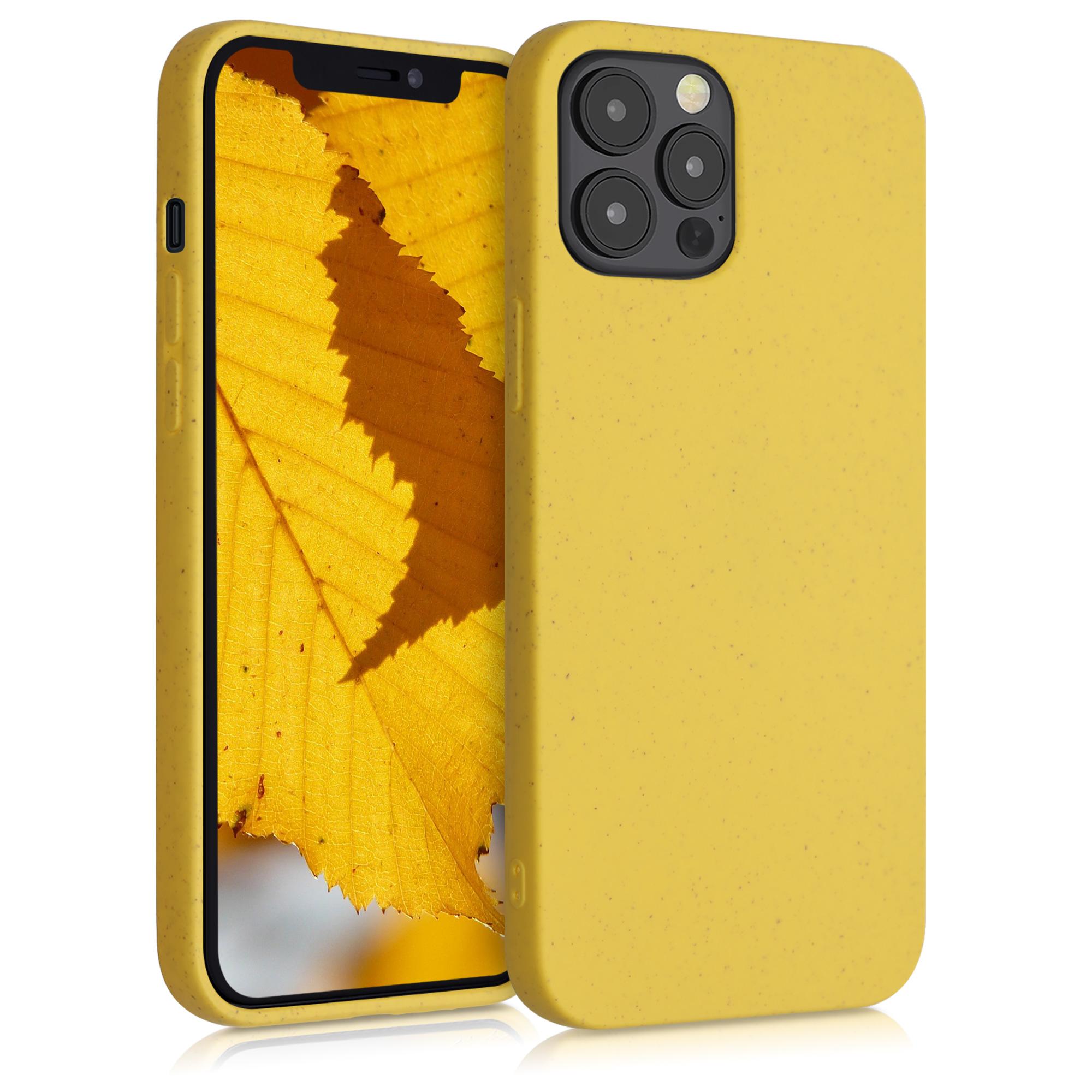 Kvalitní silikonové TPU pouzdro pro Apple iPhone 12 / 12 Pro - Žlutá
