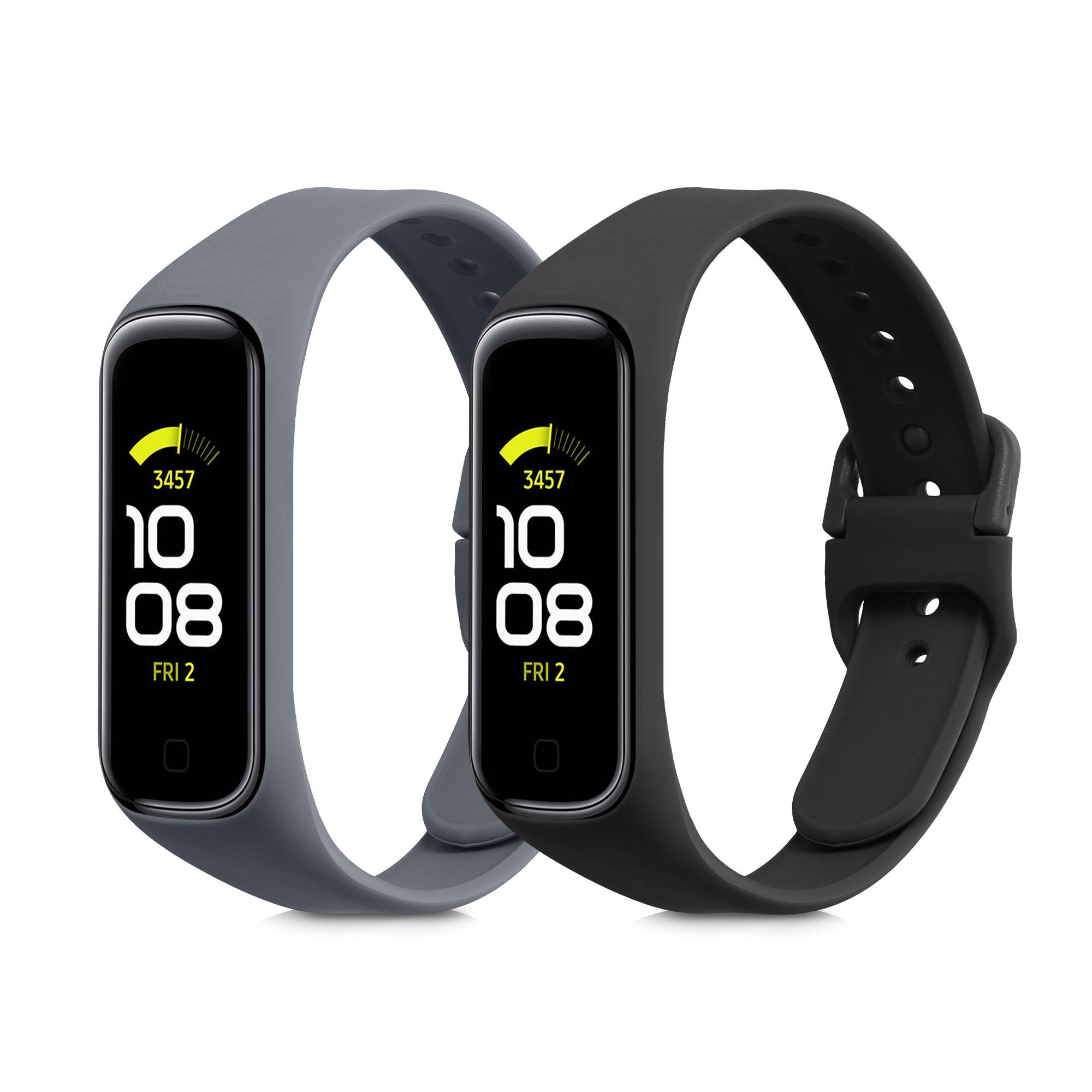 2x silikonový pásek pro Samsung Galaxy Fit 2