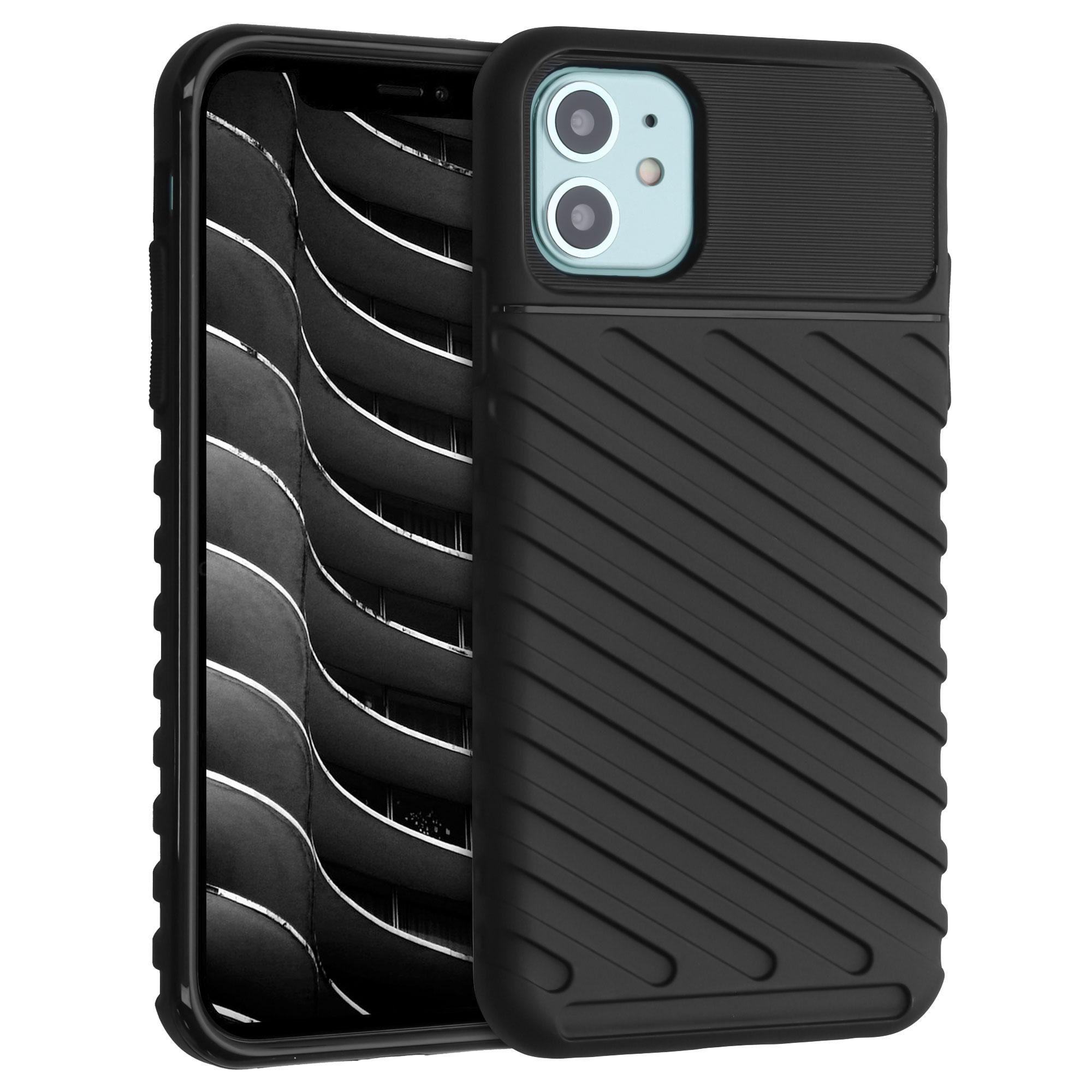 Kvalitní silikonové TPU pouzdro pro Apple iPhone 11 - Industrial Black