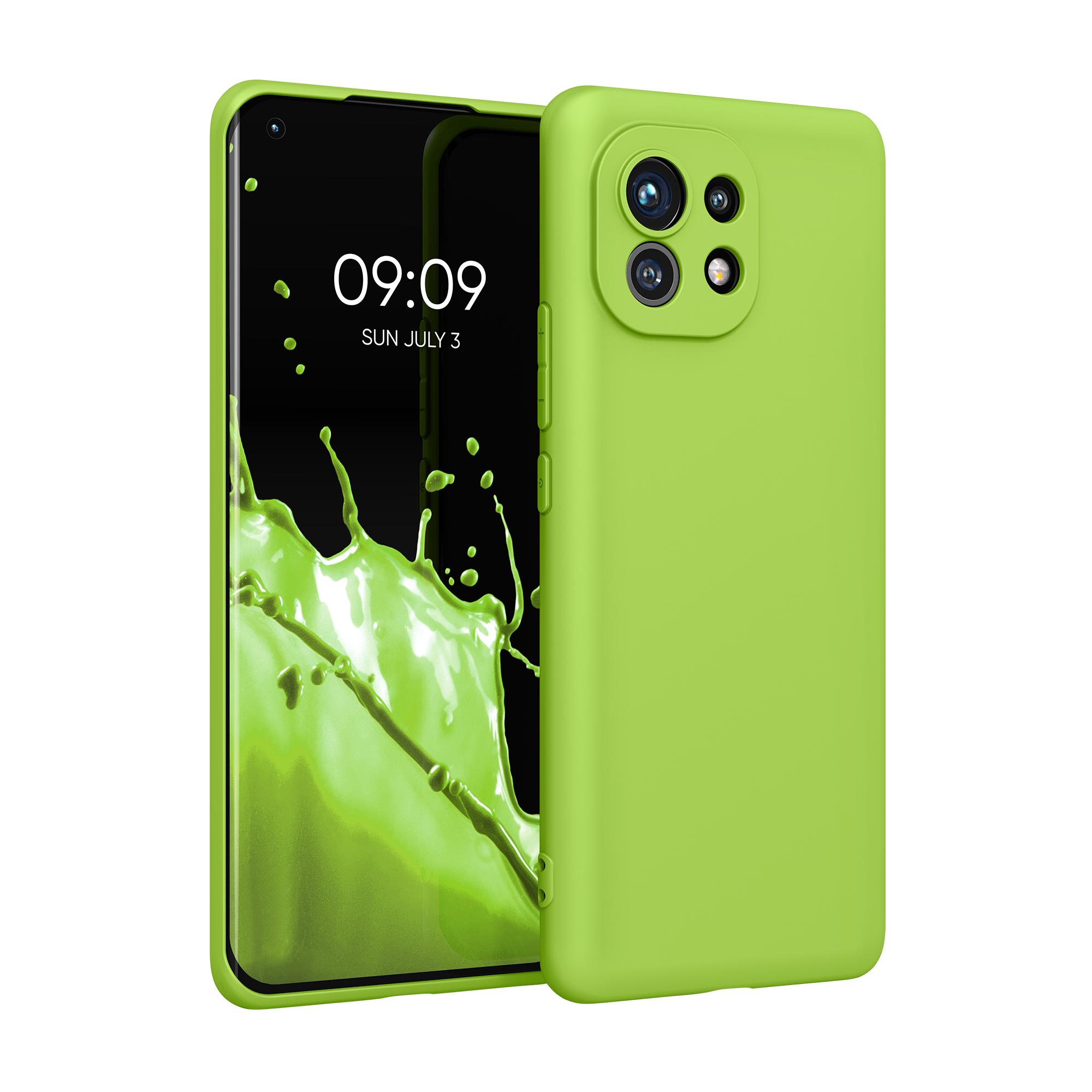 Kvalitní silikonové TPU pouzdro | obal pro Xiaomi Mi 11 -  Zelený pepř