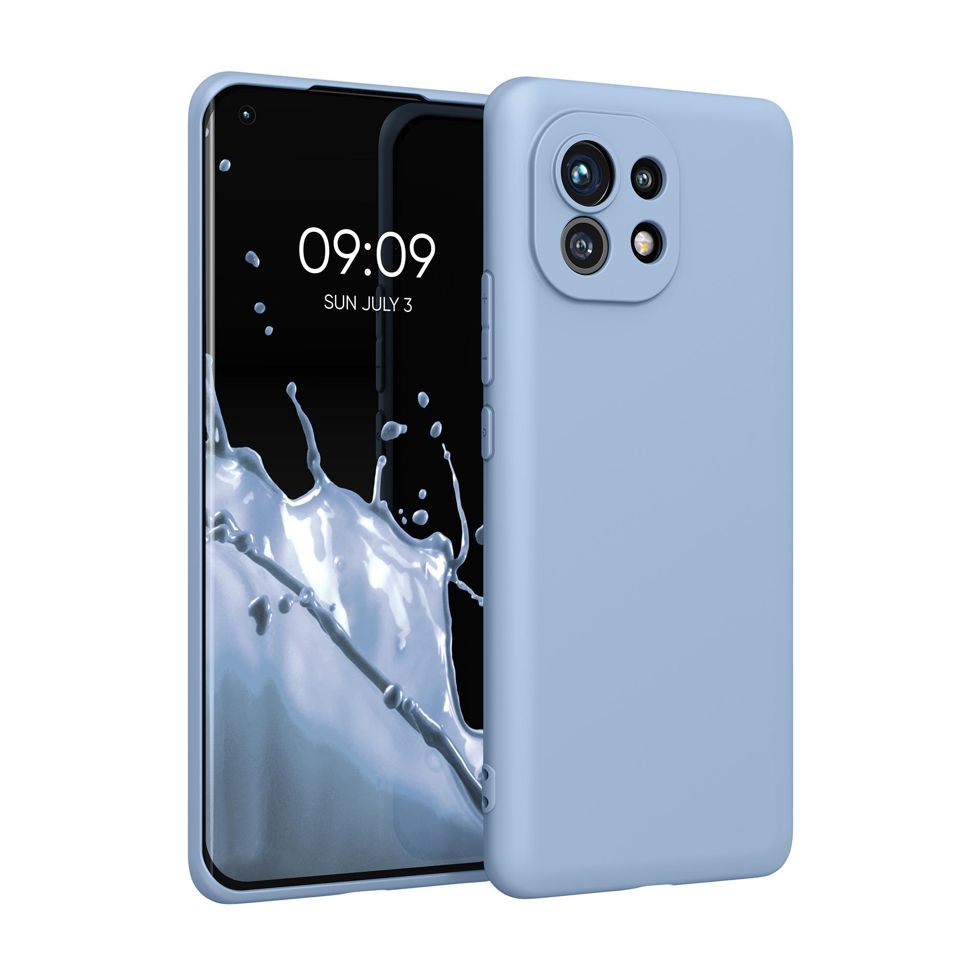 Kvalitní silikonové TPU pouzdro | obal pro Xiaomi Mi 11 -  Světle modrá matná