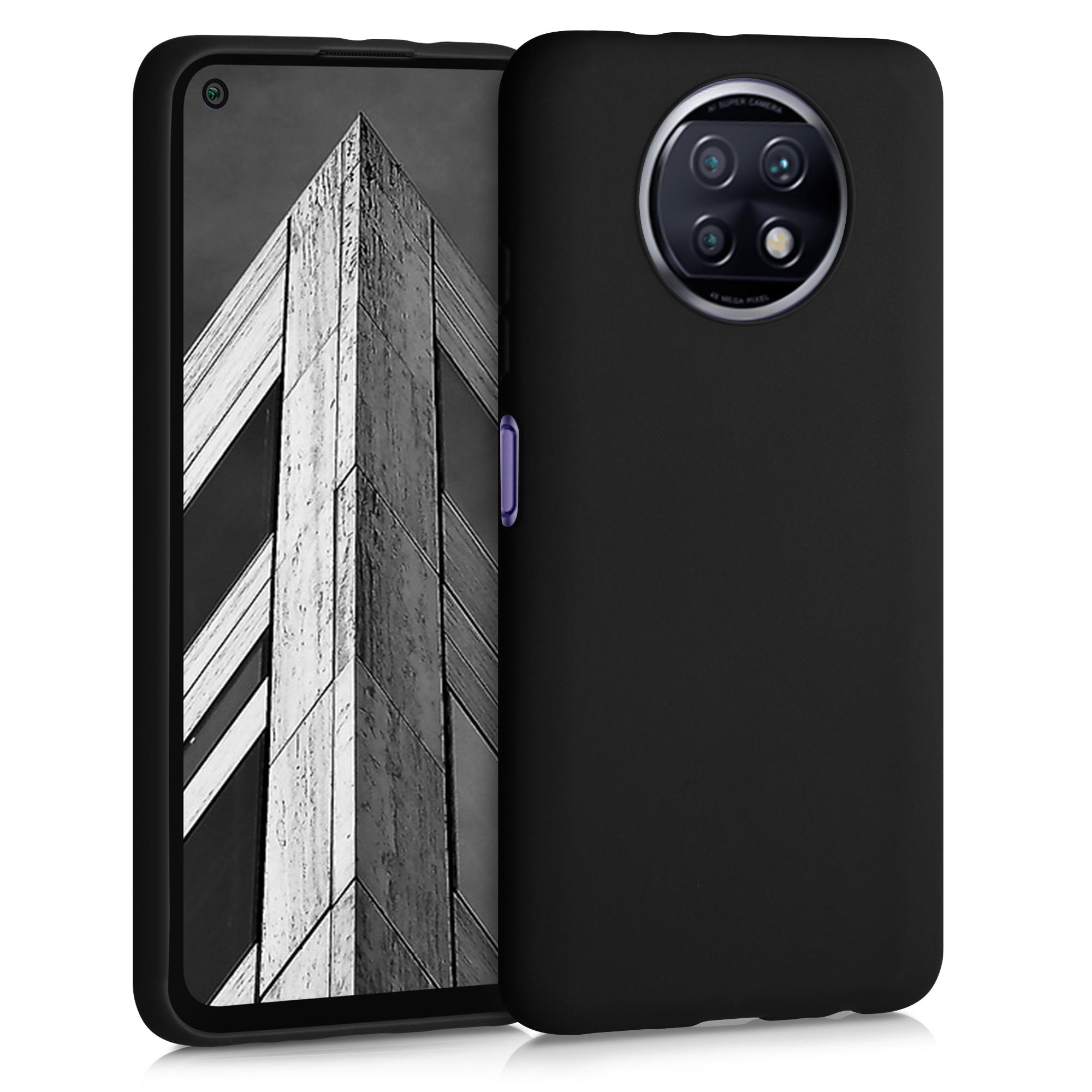 Kvalitní silikonové TPU pouzdro | obal pro Xiaomi Redmi Note 9T - černý matný