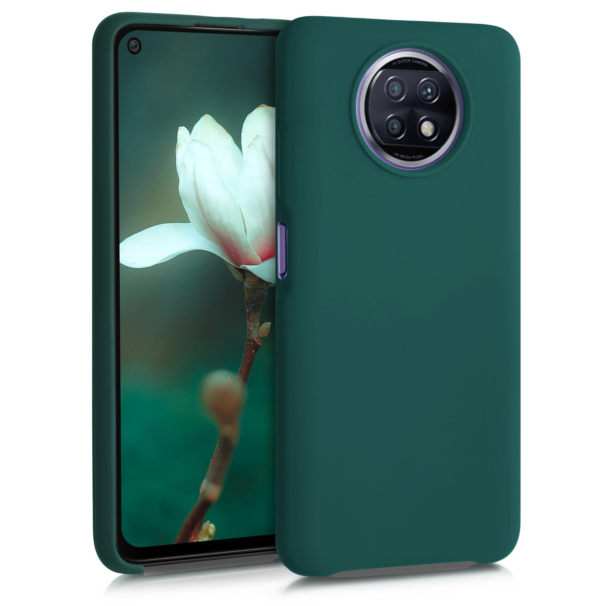 Kvalitní silikonové TPU pouzdro | obal pro Xiaomi Redmi Note 9T - tyrkysový zelený