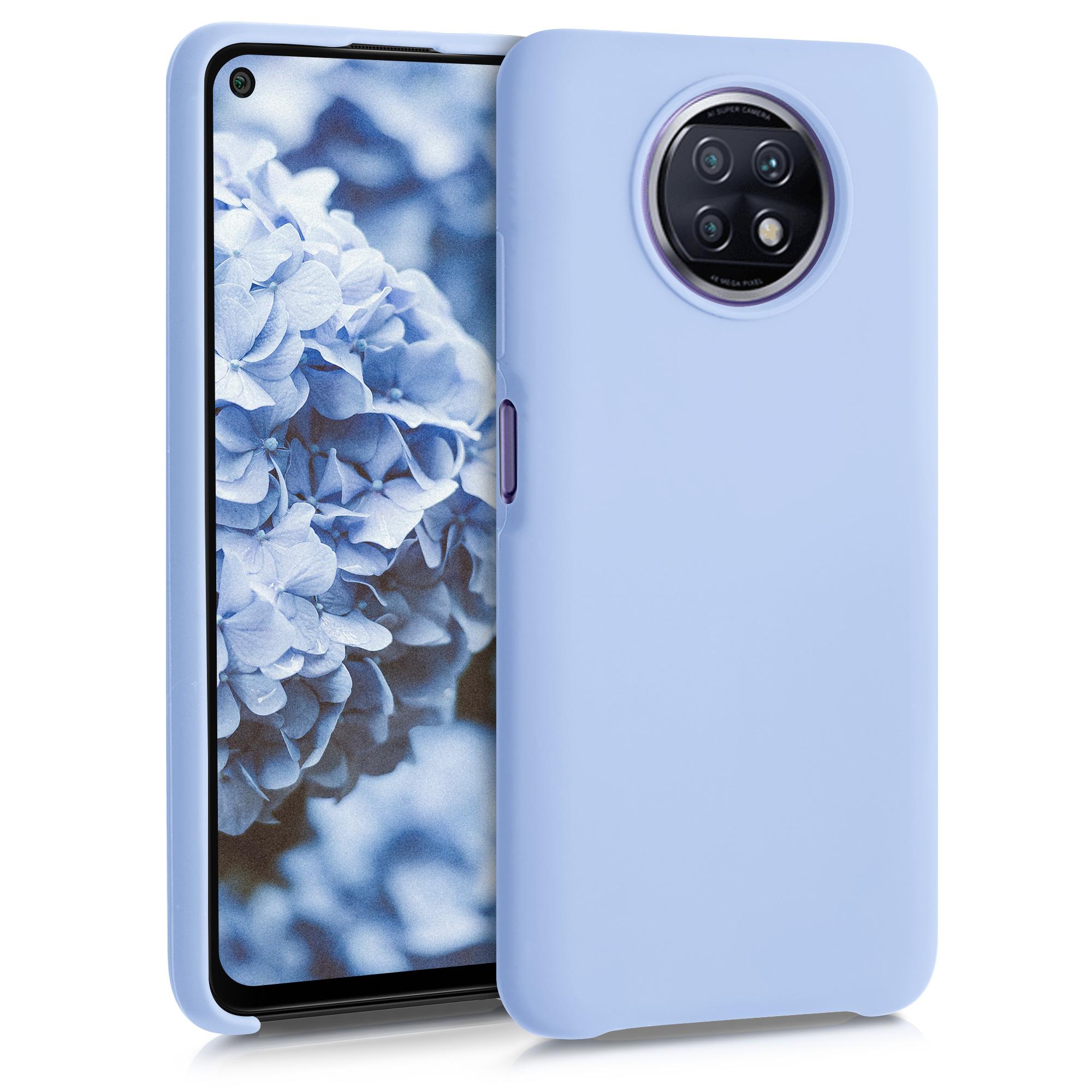 Kvalitní silikonové TPU pouzdro | obal pro Xiaomi Redmi Note 9T - světle modrý matný