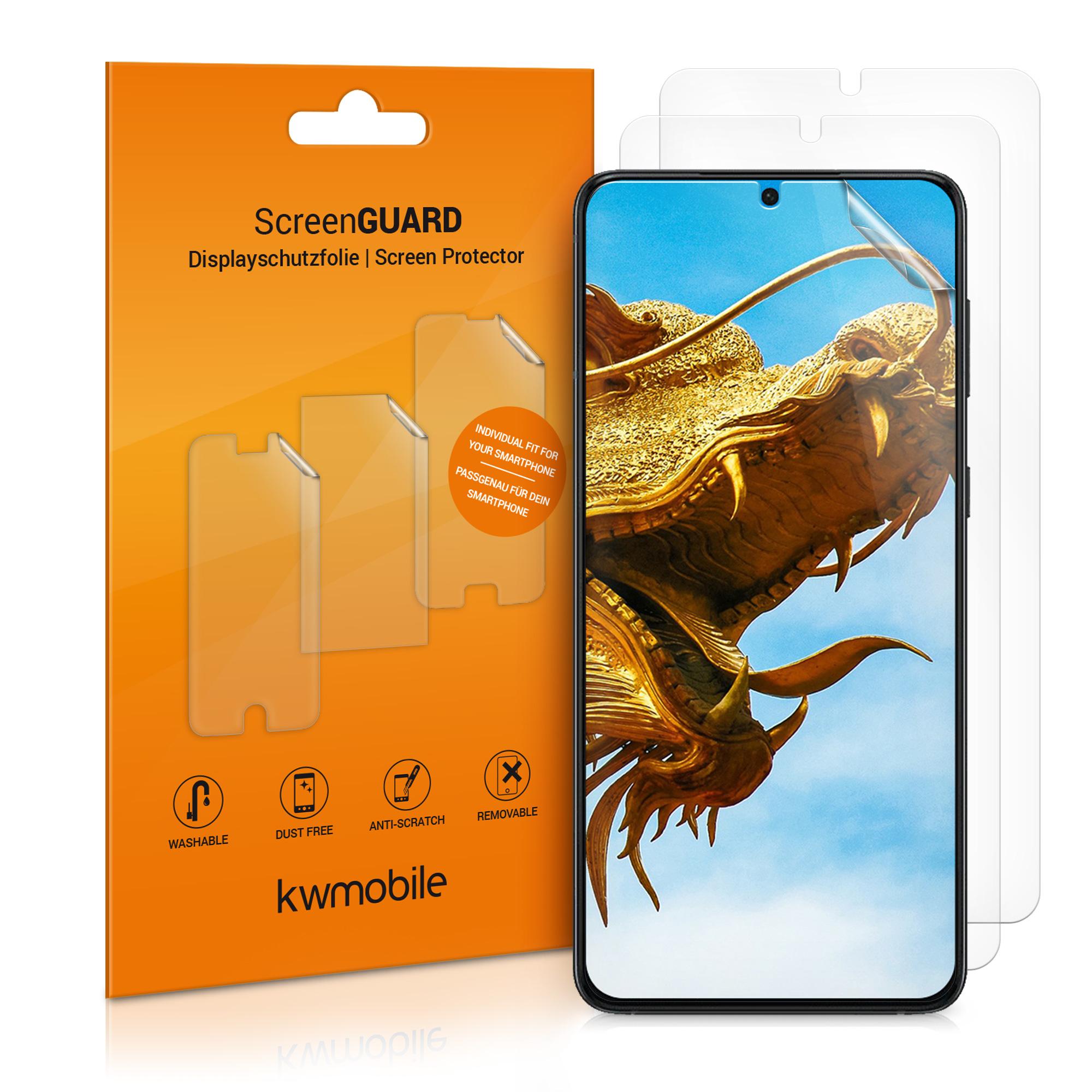 3x folie na display / screenprotector pro Samsung Galaxy S21 Plus