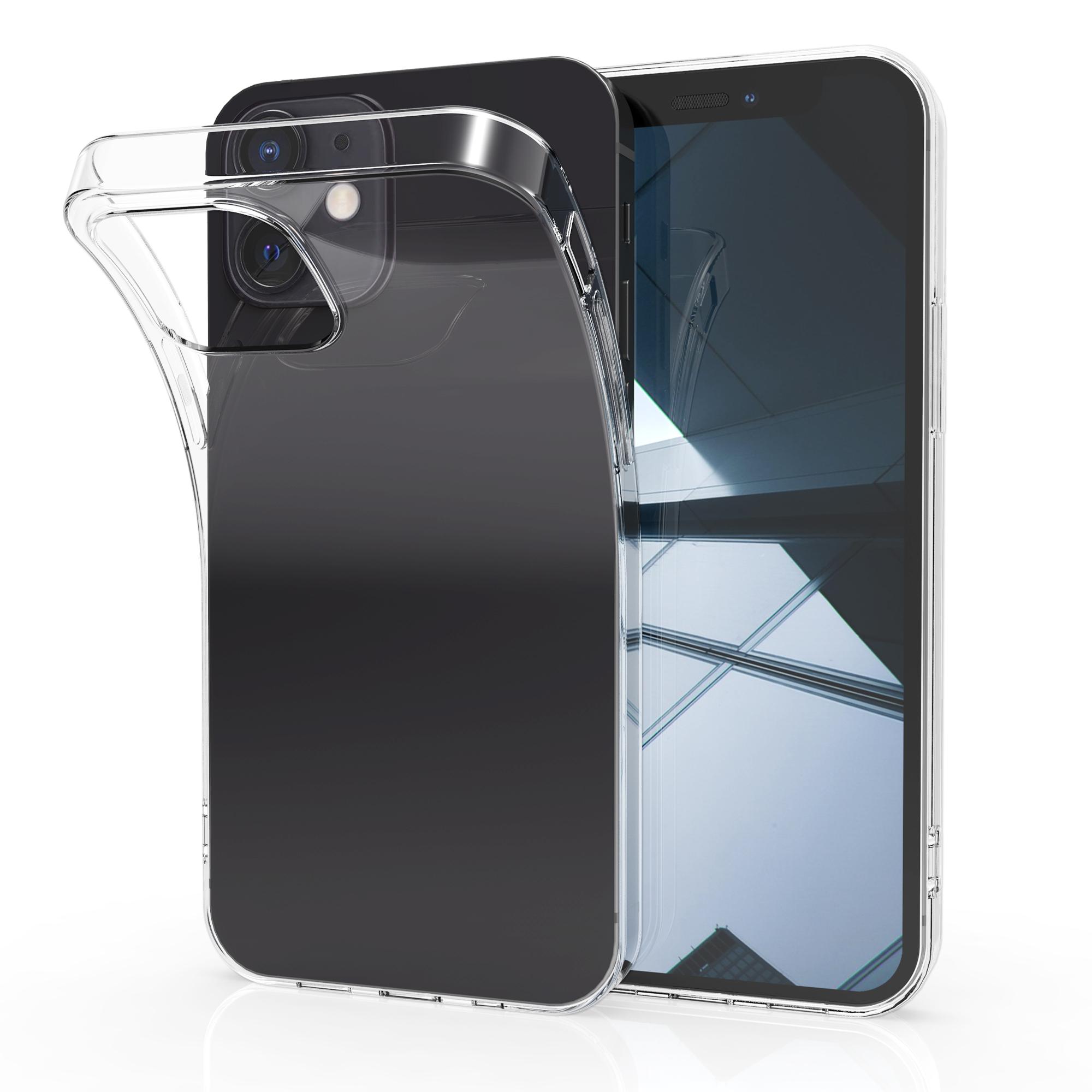 Kvalitní silikonové TPU pouzdro pro Apple iPhone 12 mini - Průhledný