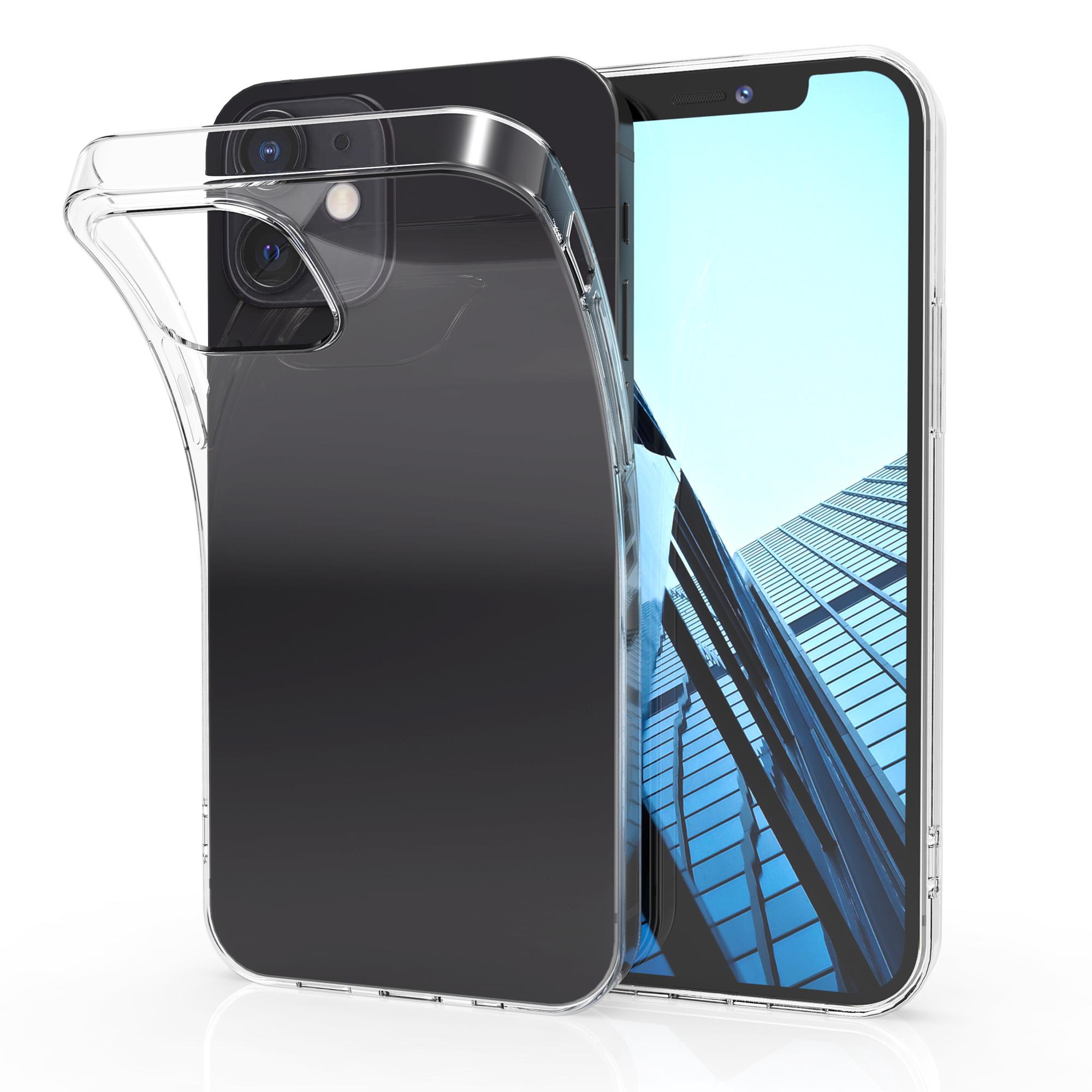 Kvalitní silikonové TPU pouzdro pro Apple iPhone 12 / 12 Pro - Průhledný