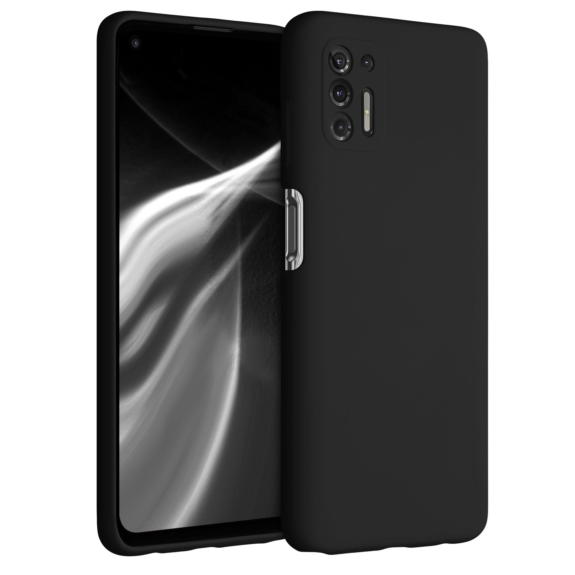Kvalitní silikonové TPU pouzdro | obal pro Motorola Moto G Pro (2021) / Moto G Stylus (2021) -  Černá
