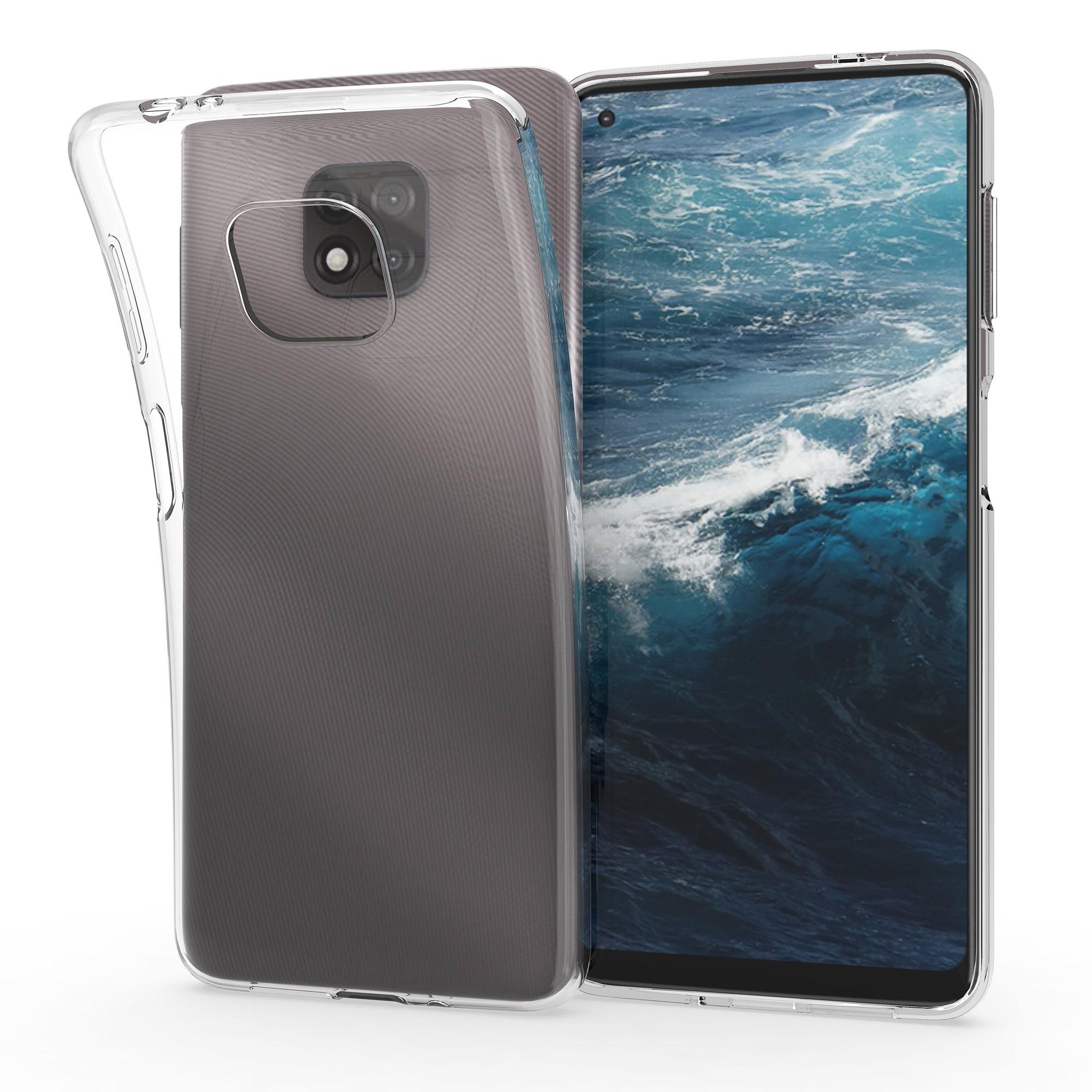 Kvalitní silikonové TPU pouzdro | obal pro Motorola Moto G Power (2021) - Transparentní