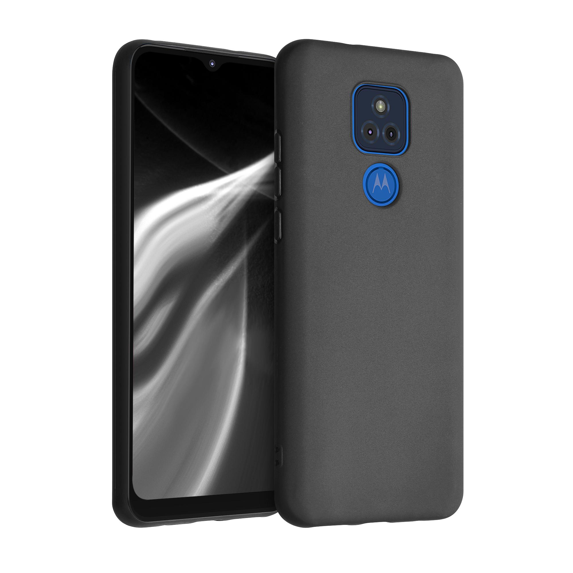 Kvalitní silikonové TPU pouzdro   obal pro Motorola Moto G Play (2021) - Černá matná
