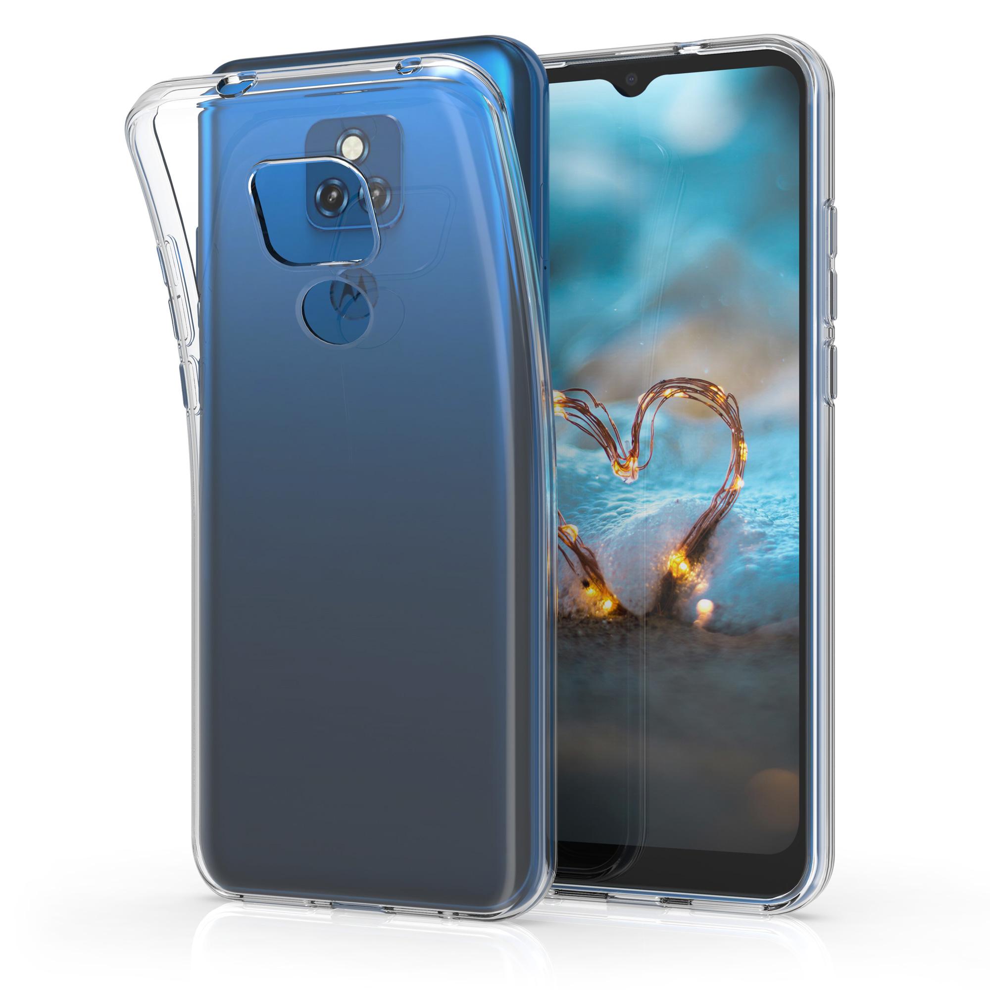Kvalitní silikonové TPU pouzdro   obal pro Motorola Moto G Play (2021) - Transparentní