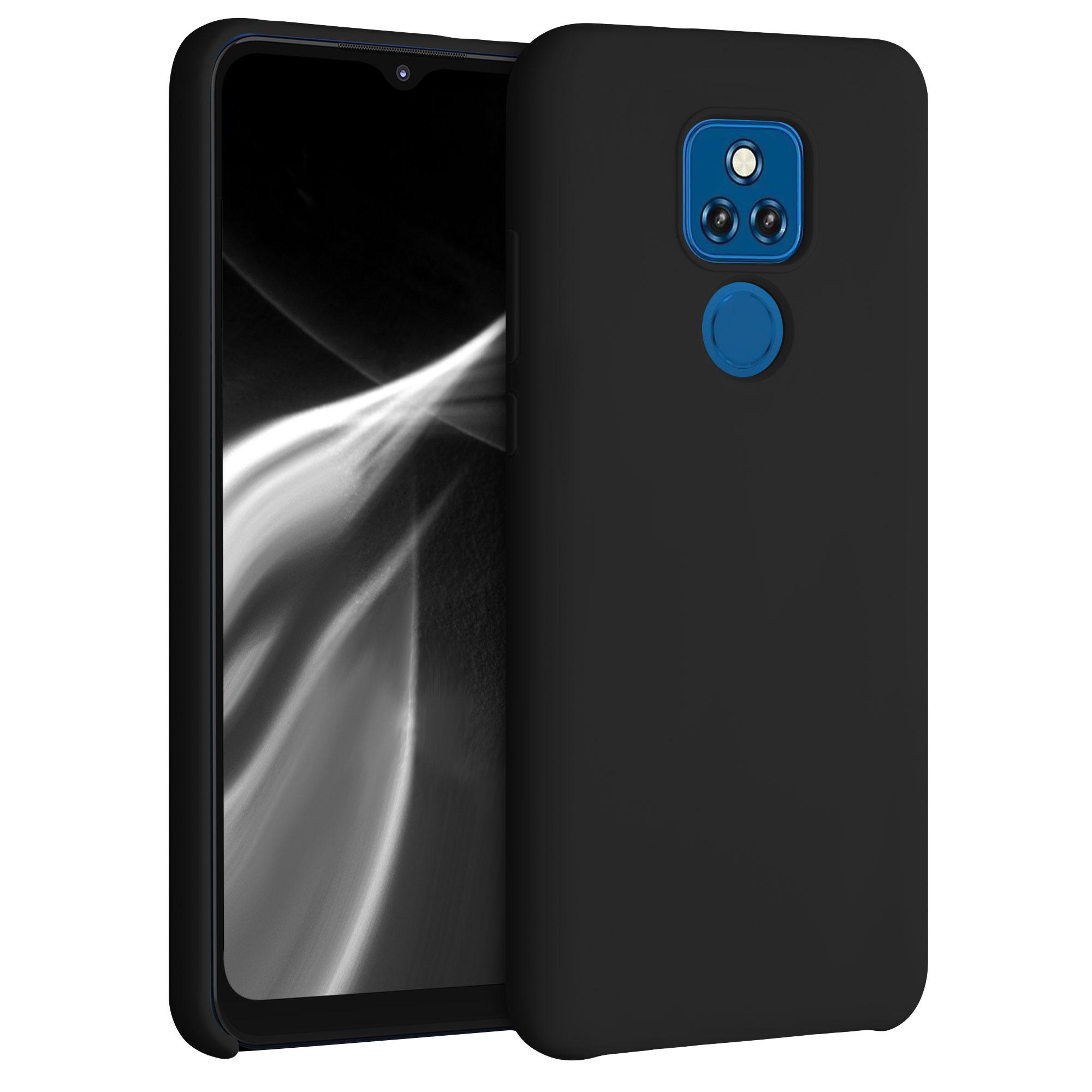 Kvalitní silikonové TPU pouzdro   obal pro Motorola Moto G Play (2021) -  Černá