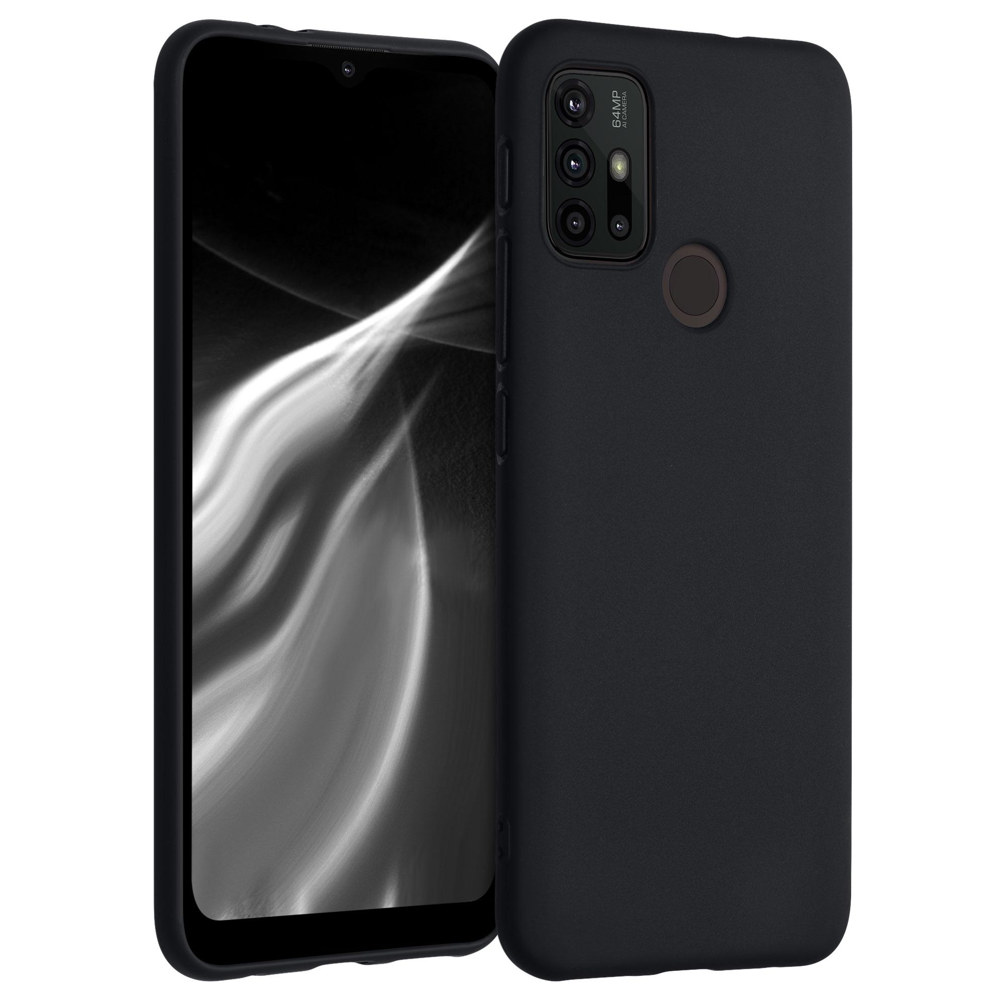 Kvalitní silikonové TPU pouzdro | obal pro Motorola Moto G30 / Moto G20 / Moto G10 - Černá matná