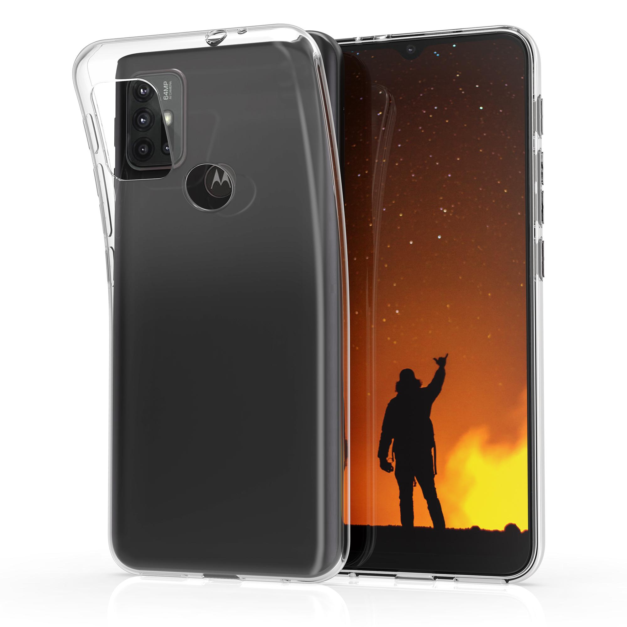 Kvalitní silikonové TPU pouzdro | obal pro Motorola Moto G30 / Moto G20 / Moto G10 - Transparentní