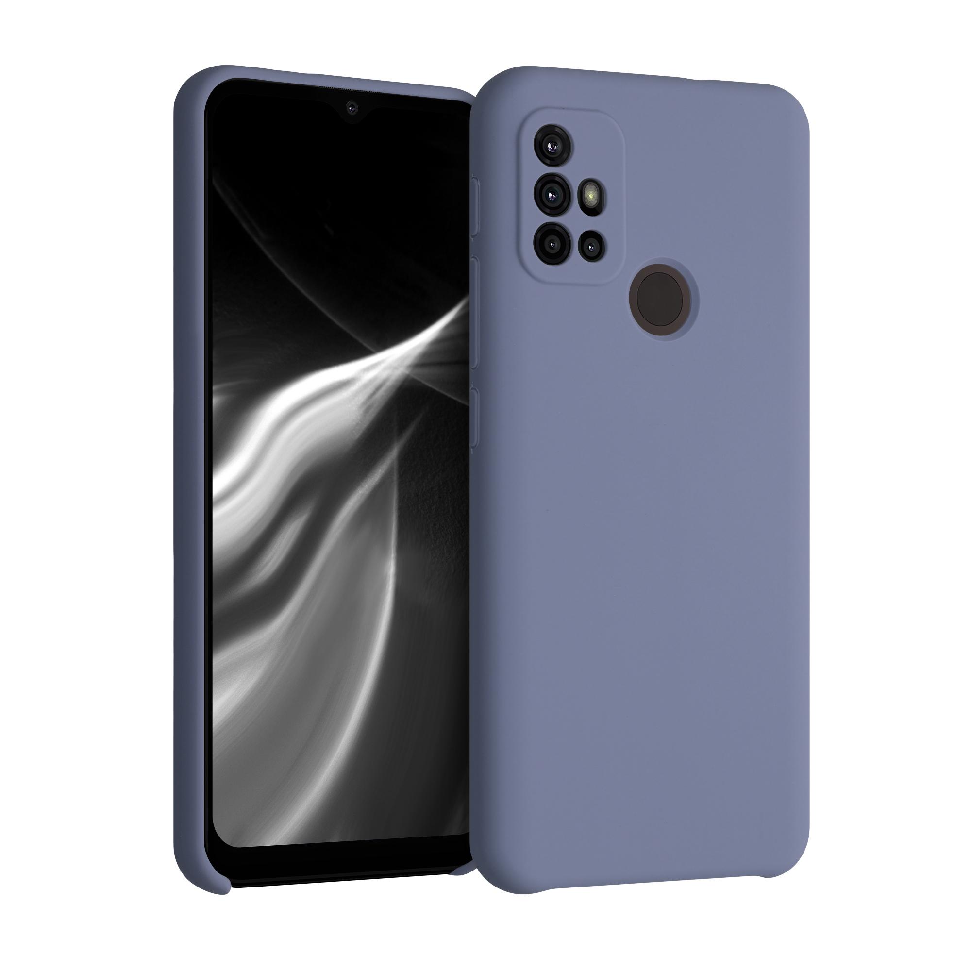 Kvalitní silikonové TPU pouzdro | obal pro Motorola Moto G30 / Moto G20 / Moto G10 - Levandulově šedá