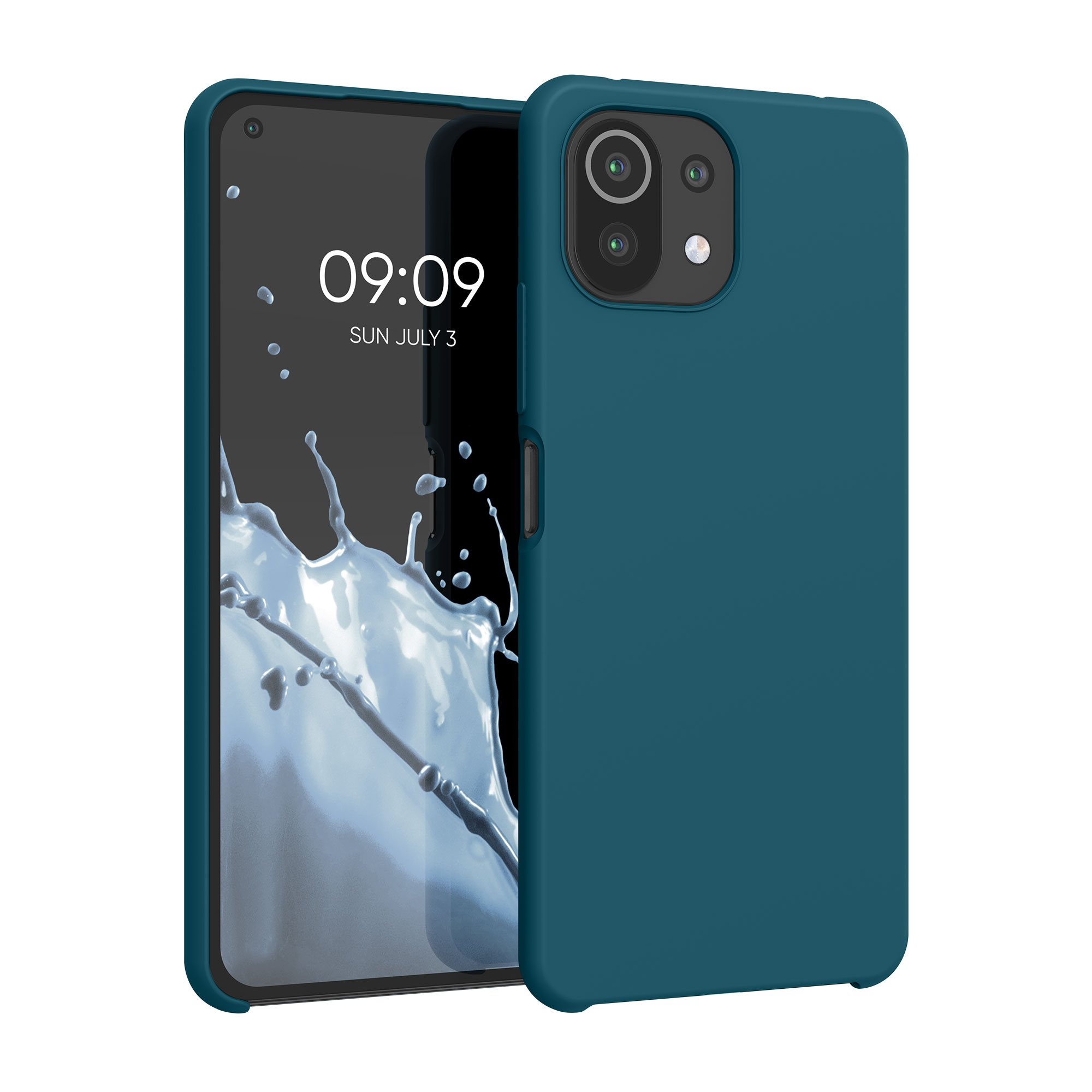 Kvalitní silikonové TPU pouzdro | obal pro Xiaomi Mi 11 Lite (5G) -  Teal Matte