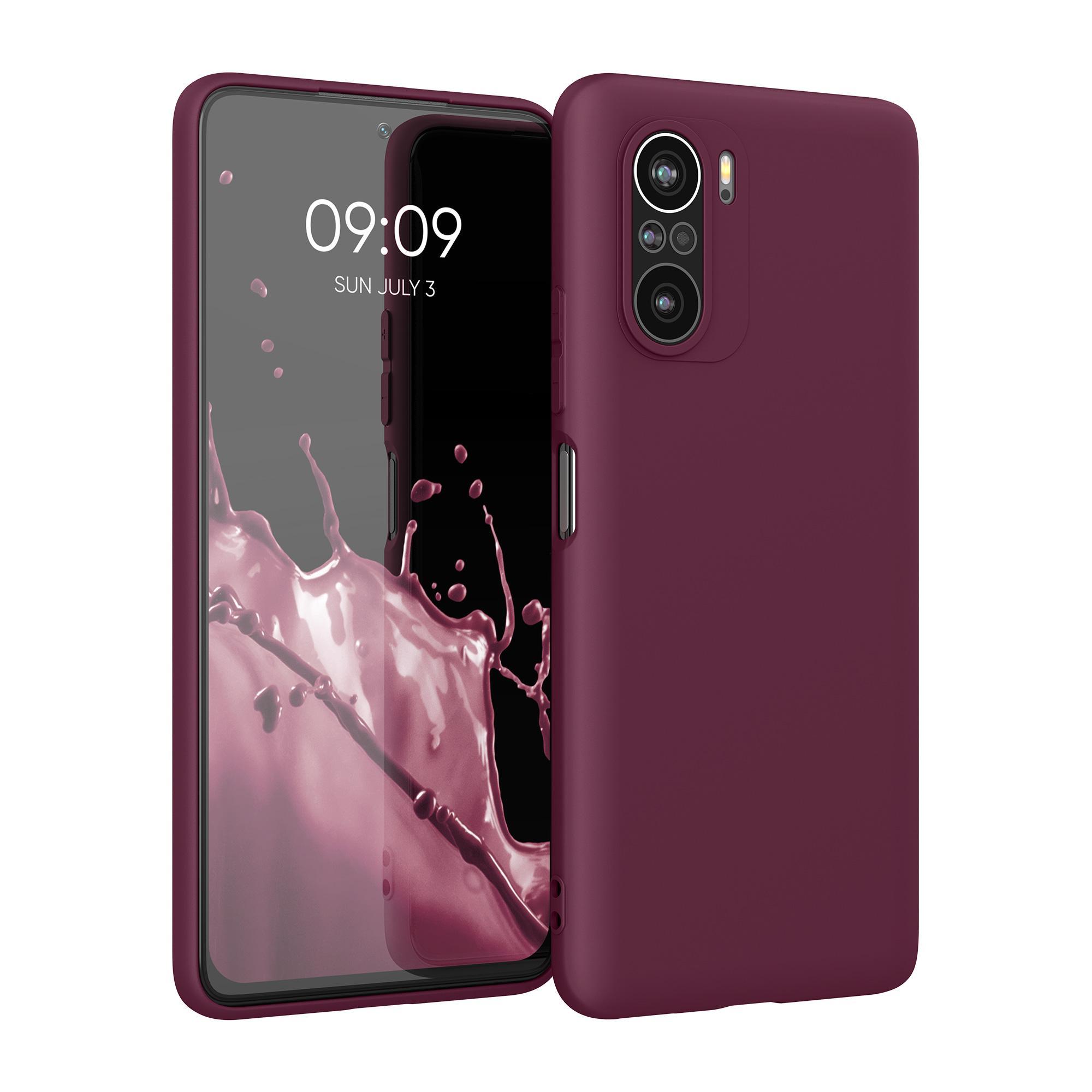 Kvalitní silikonové TPU pouzdro | obal pro Xiaomi Mi 11i -  Bordeaux Fialová