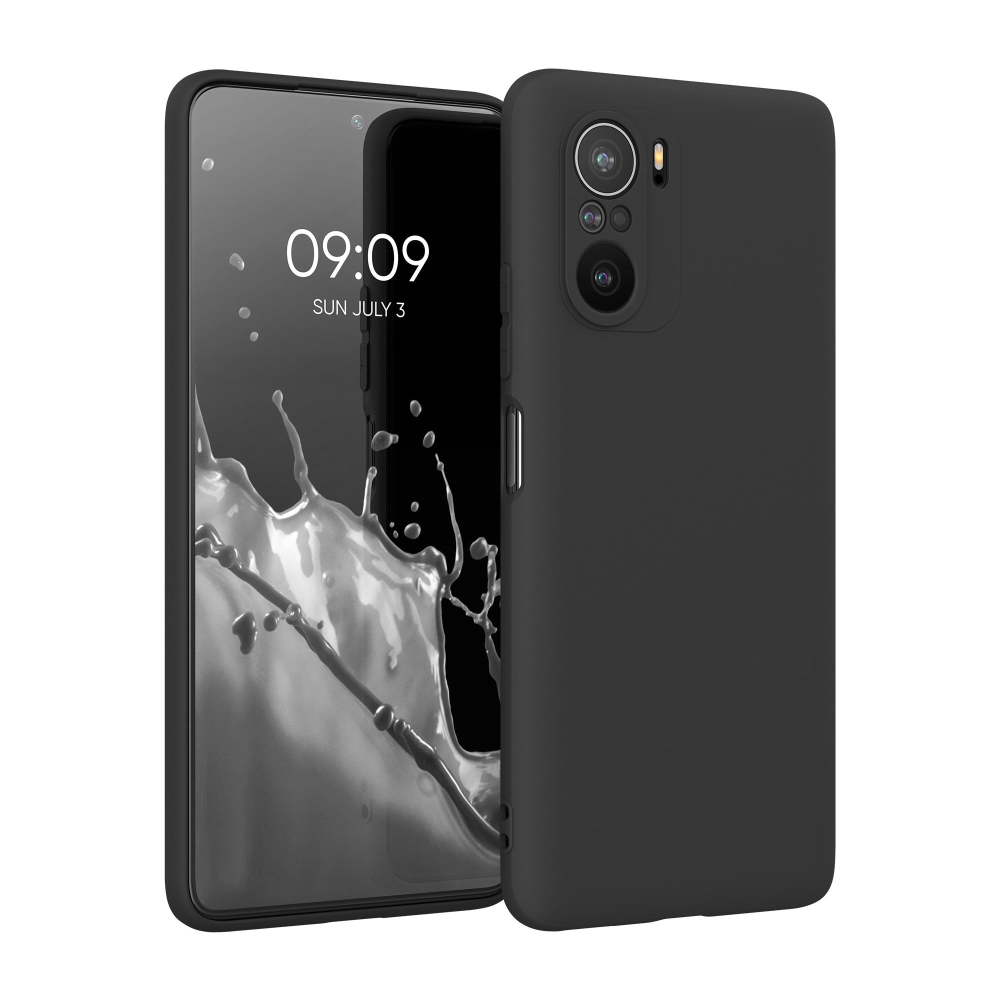 Kvalitní silikonové TPU pouzdro | obal pro Xiaomi Mi 11i -  Černá matná