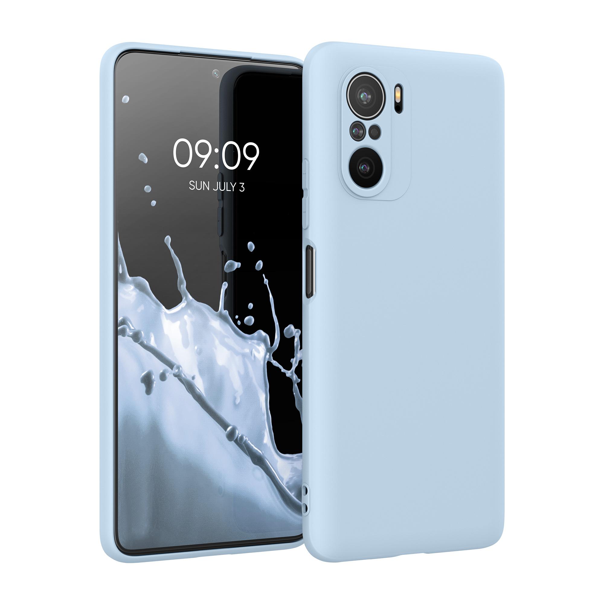 Kvalitní silikonové TPU pouzdro | obal pro Xiaomi Mi 11i -  Světle modrá matná