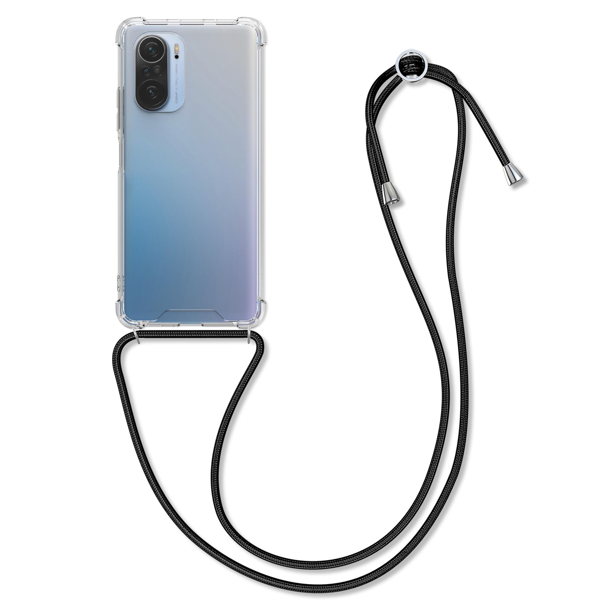 Kvalitní silikonové TPU pouzdro | obal pro Xiaomi Mi 11i / Poco F3 -  Černá / průhledná