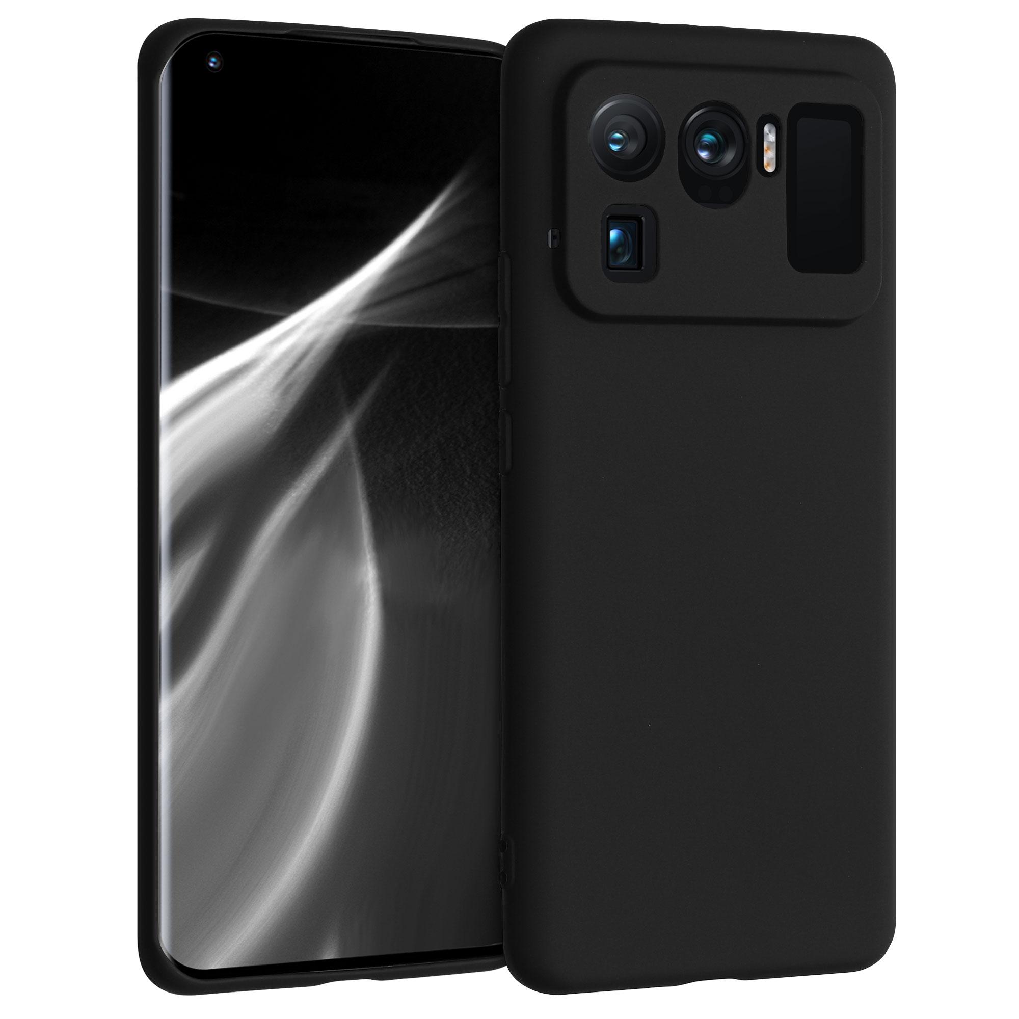 Kvalitní silikonové TPU pouzdro | obal pro Xiaomi Mi 11 Ultra -  Černá matná