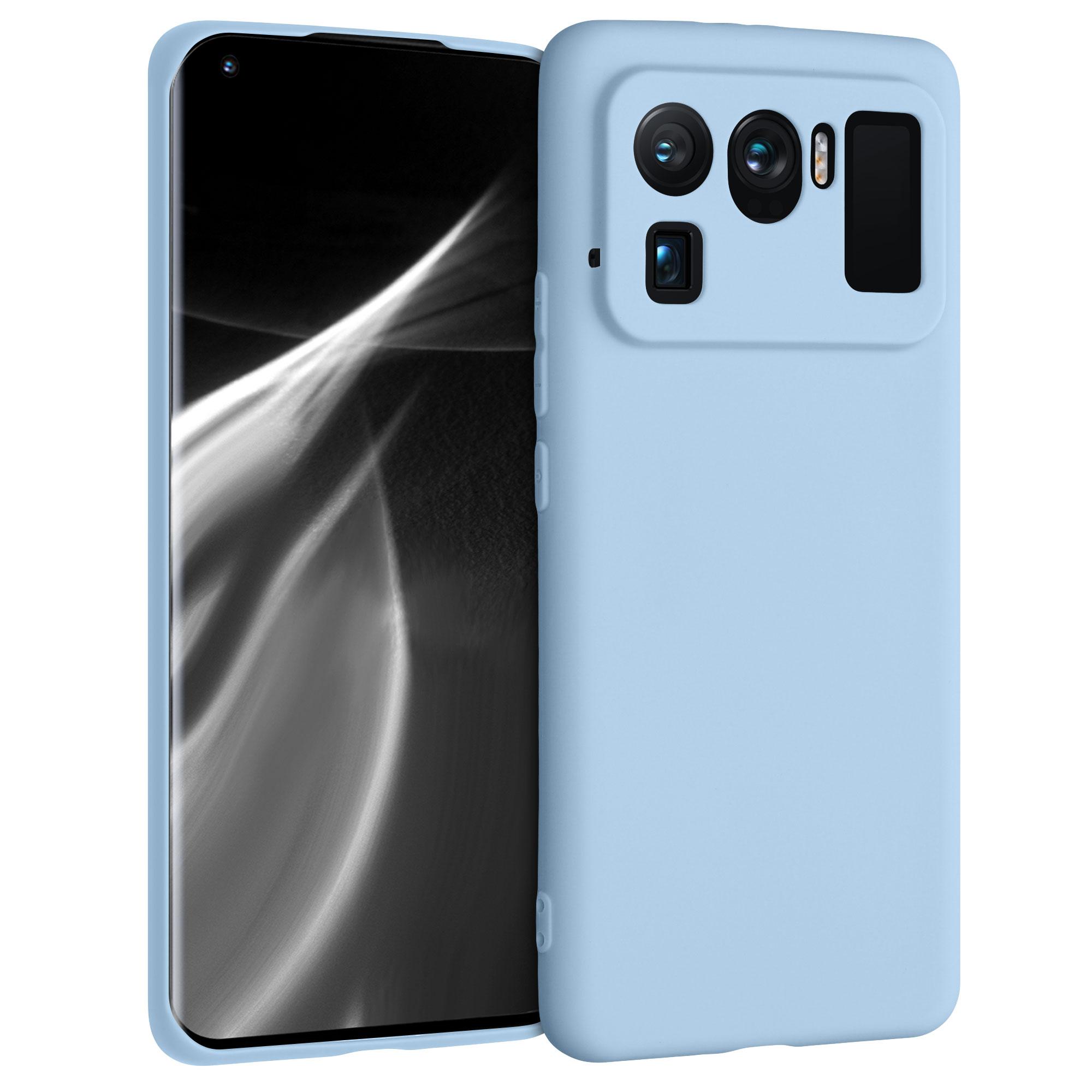 Kvalitní silikonové TPU pouzdro | obal pro Xiaomi Mi 11 Ultra -  Světle modrá matná