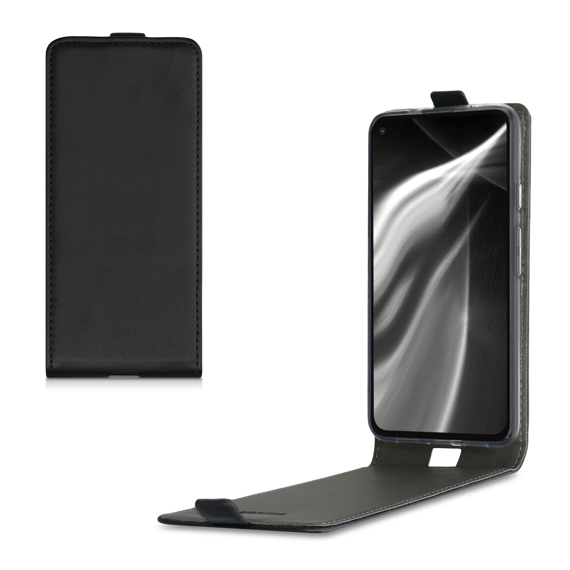 Kožené pouzdro | obal pro Google Pixel 4a 5G - Černá